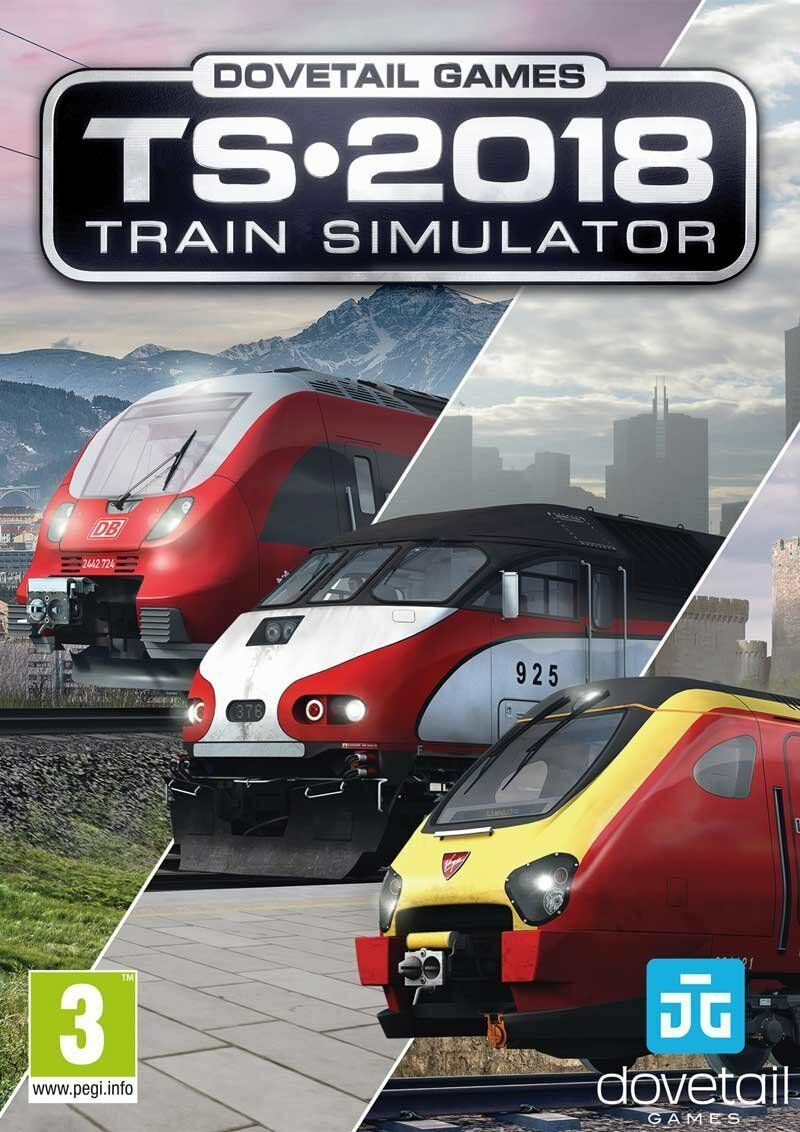 train simulator 2018 pc dvd latest simulator game new. Black Bedroom Furniture Sets. Home Design Ideas