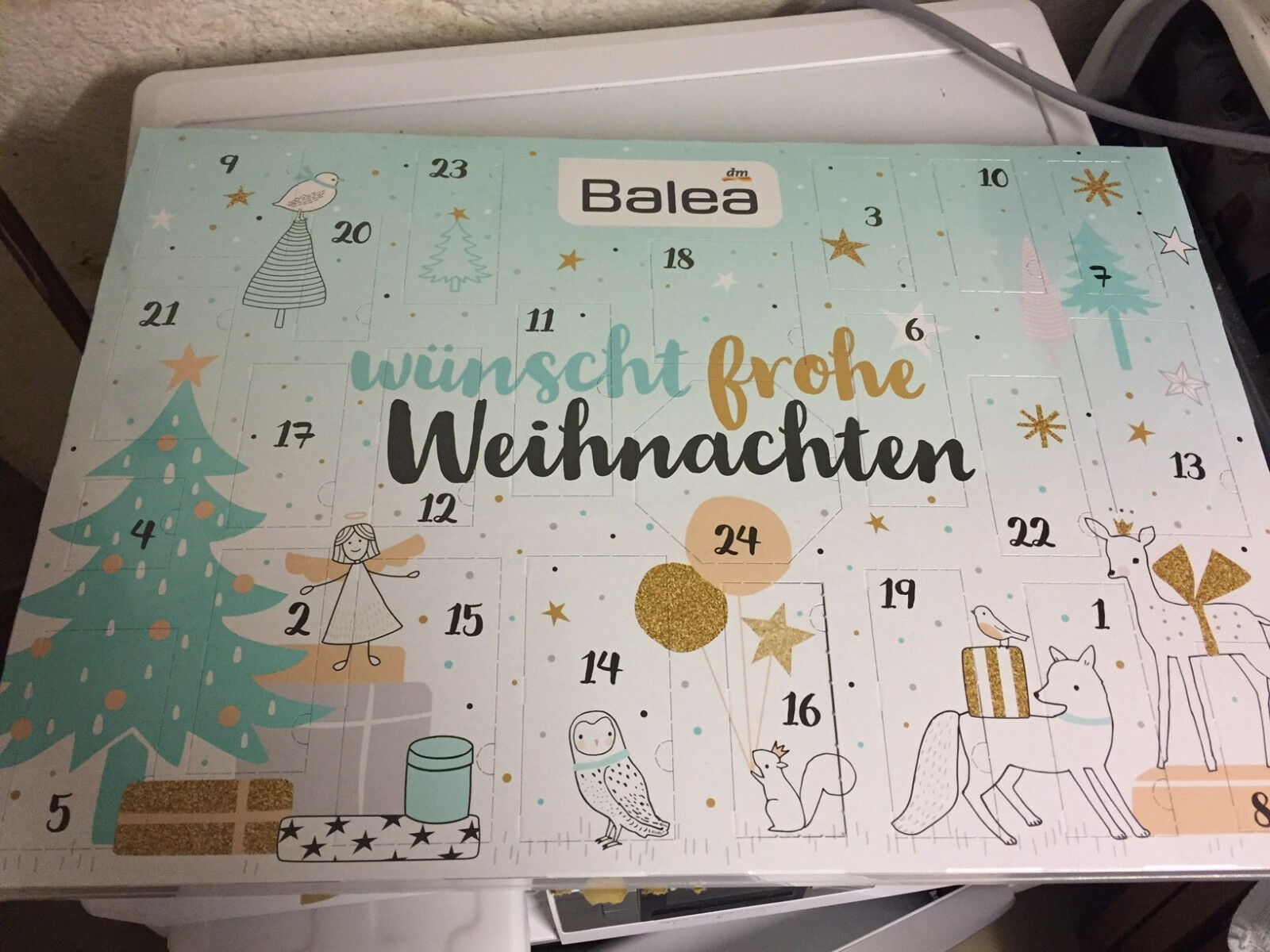 balea adventskalender 2017 beauty kalender advent geschenk weihnachten damen eur 25 00. Black Bedroom Furniture Sets. Home Design Ideas