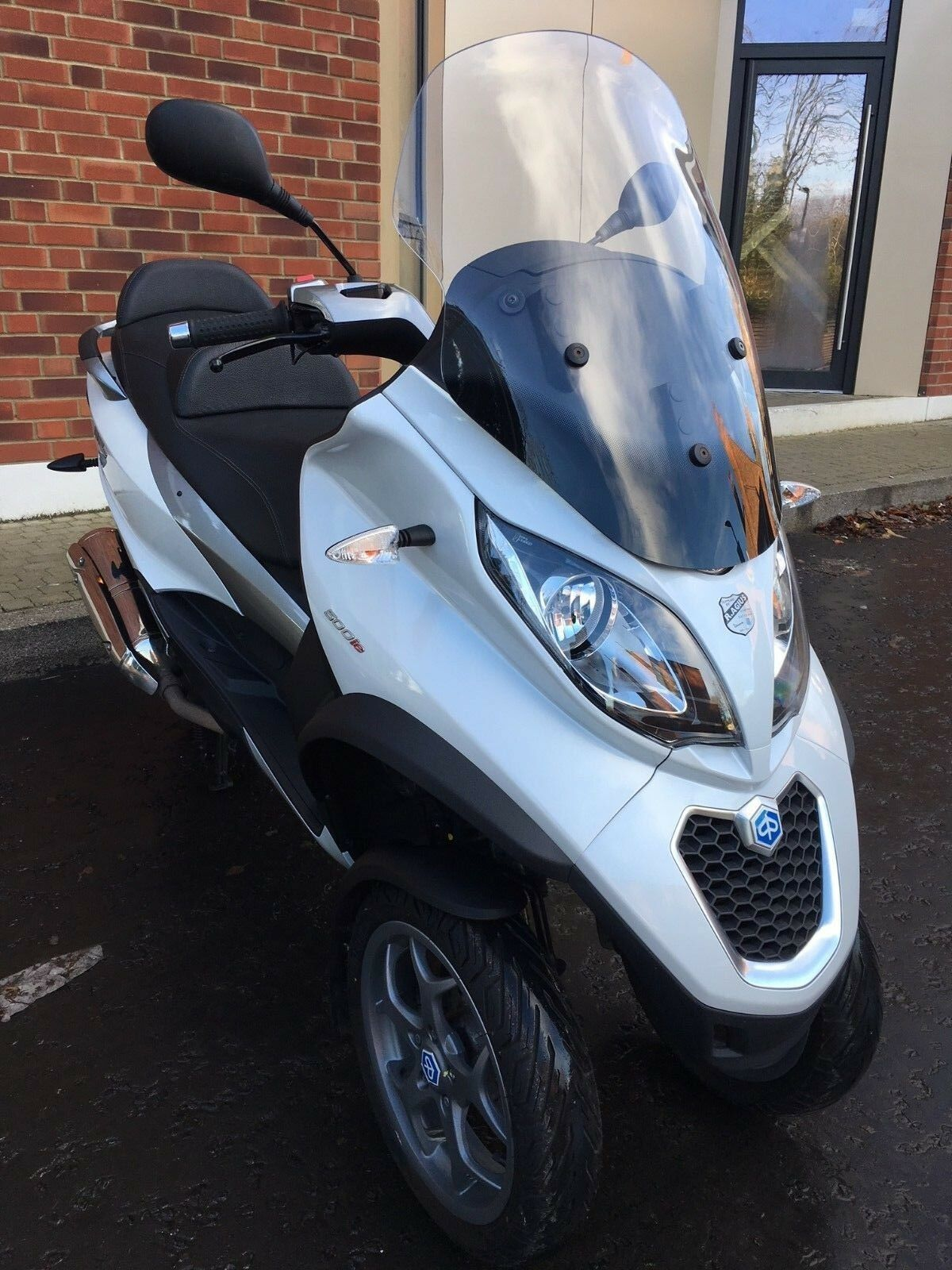 piaggio mp3 500 lt scooter tricyle abs 2016 low mileage heated grips cat 1 alarm 5. Black Bedroom Furniture Sets. Home Design Ideas