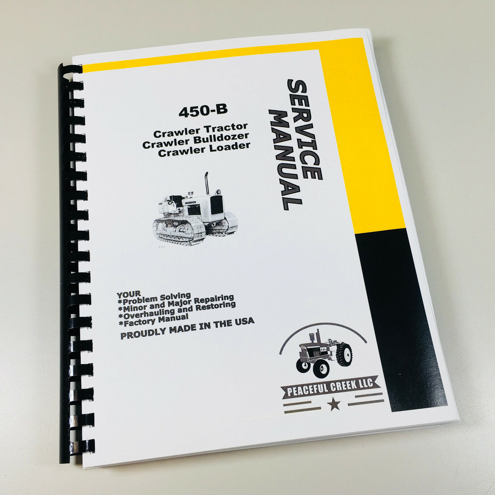 Service Technical Manual For John Deere 450B Crawler Tractor Loader Dozer  Repair 1 of 9Only 4 available ...