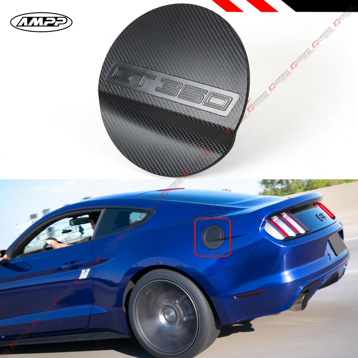 Carbon Fiber Fuel Lid Door 07 Accordfiber Wiring Diagram Database Mustang Fuse Box Cover For 15 17 Ford Gt350 Texture Add On Gas