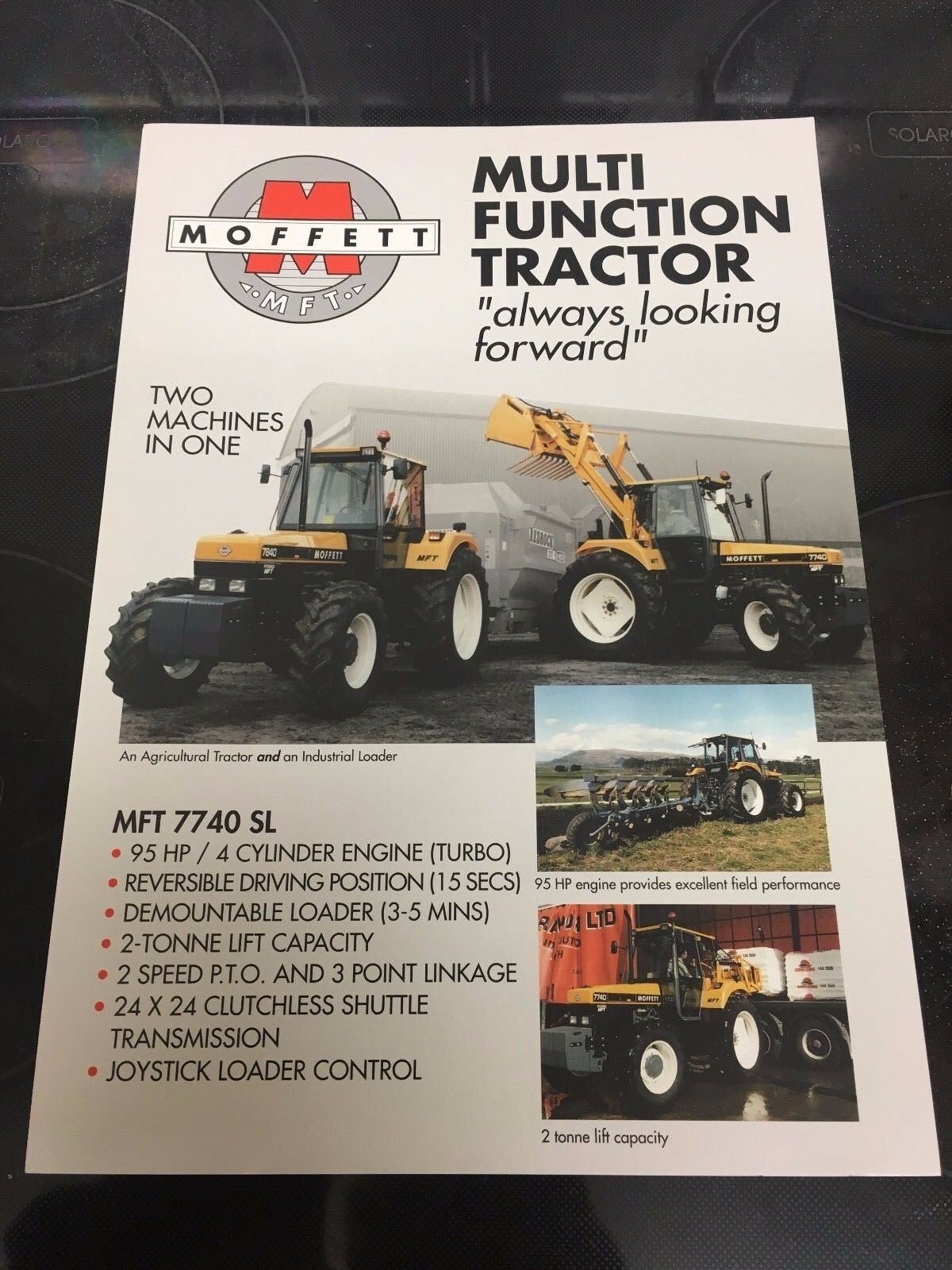 -Ford 7840 Ford 7740 / New Holland 40 Series. Moffett Mft Tractor Sales  Brochure 1 of 2Only 3 available See More