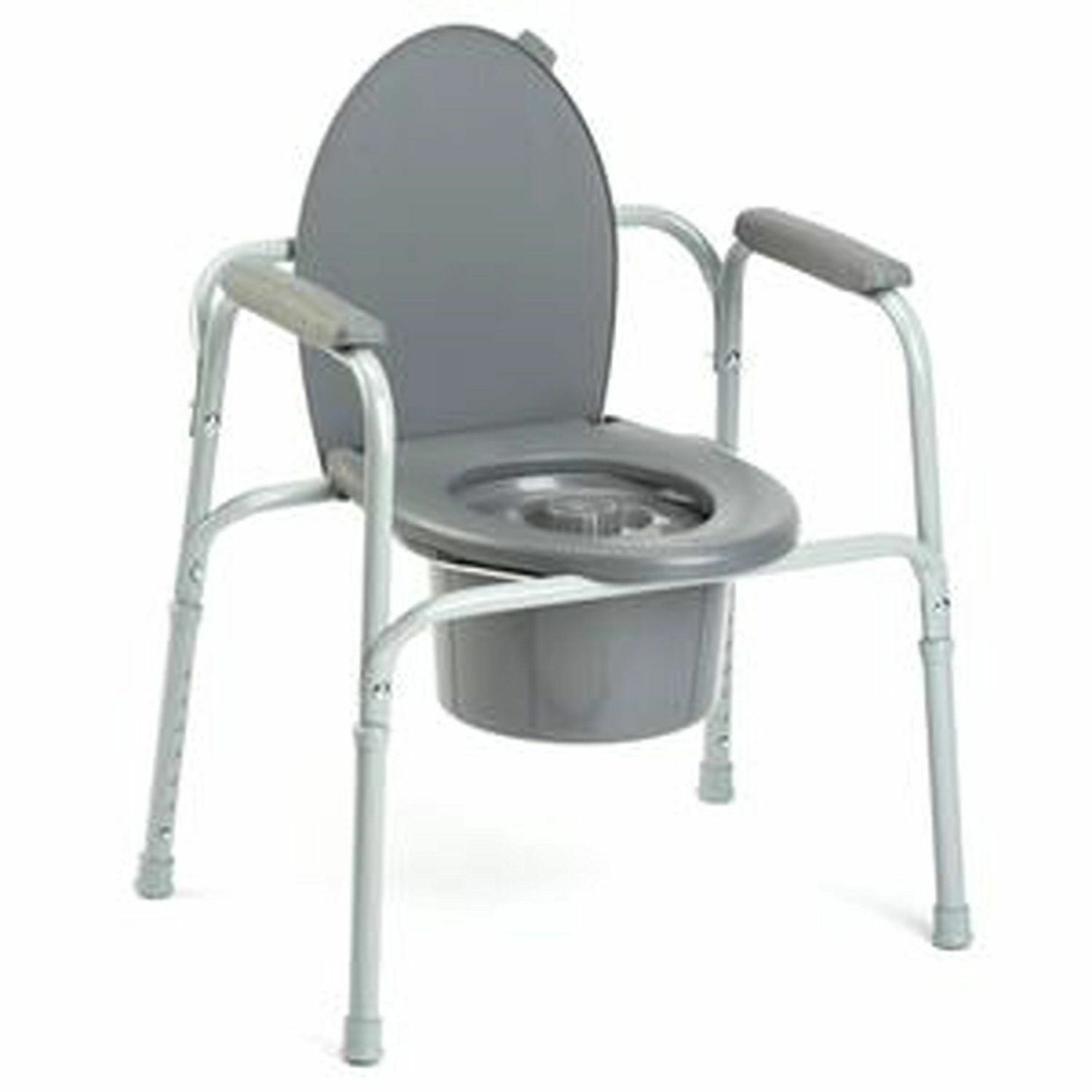 INVACARE PORTABLE BEDSIDE 3-in-One Commode Toilet Safety Frame ...