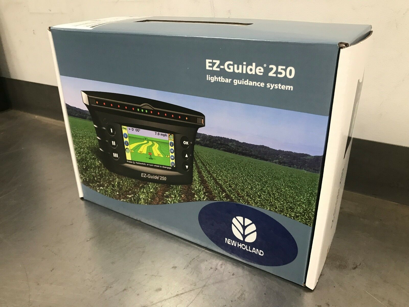 New trimble ez guide 250 gps lightbar with mini mag antenna 92000 1 of 4 see more aloadofball Images