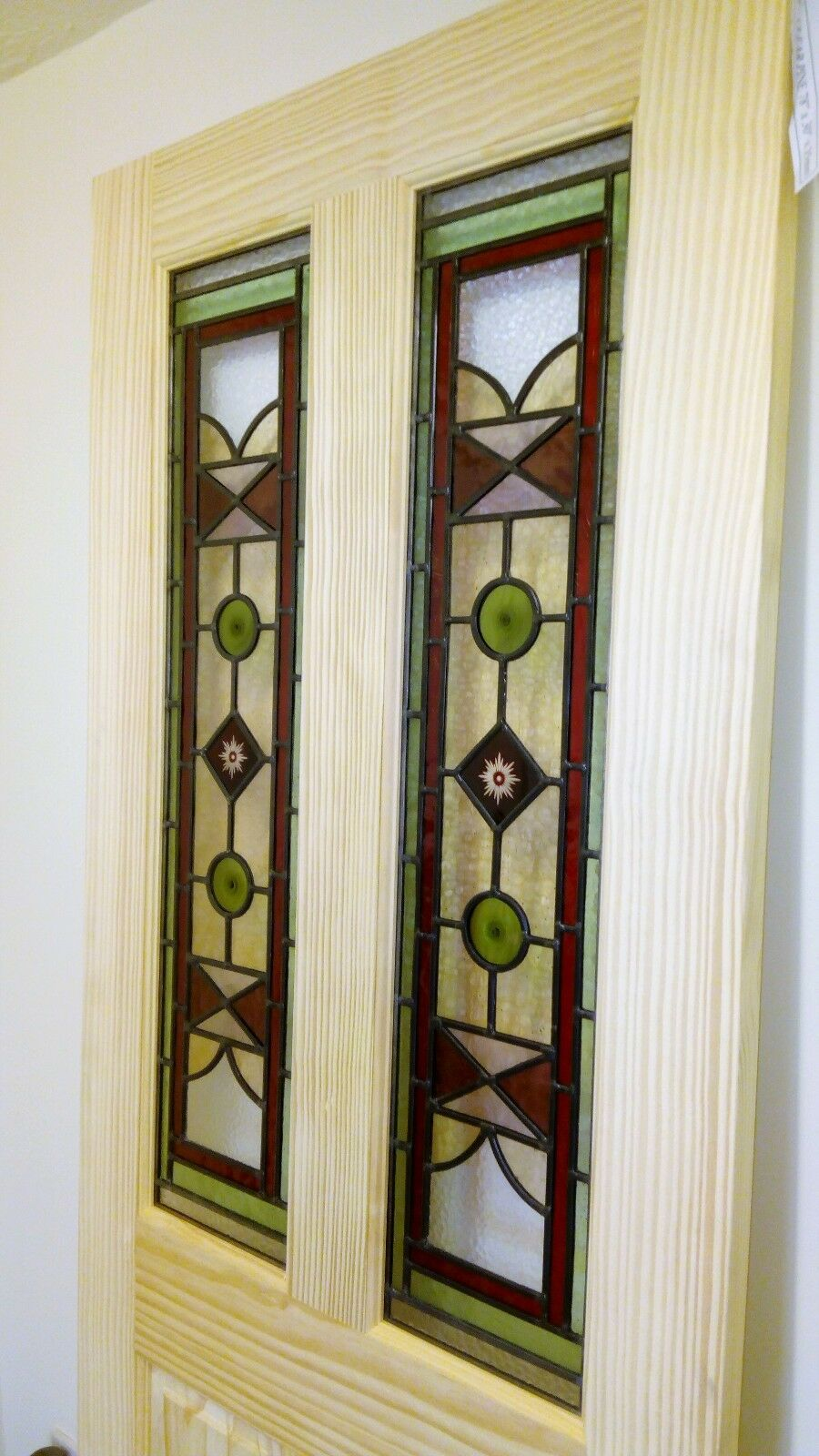 Traditional Victorianedwardian Style Stained Glass Internal Door