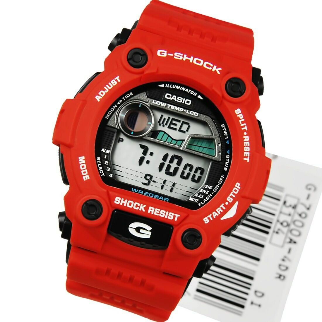 Brand New Casio G Shock G7900a 4 Red Digital Rescue Mens Watch Nwt Camouflage Gd 120cm 4dr 1 Of 1only 2 Available