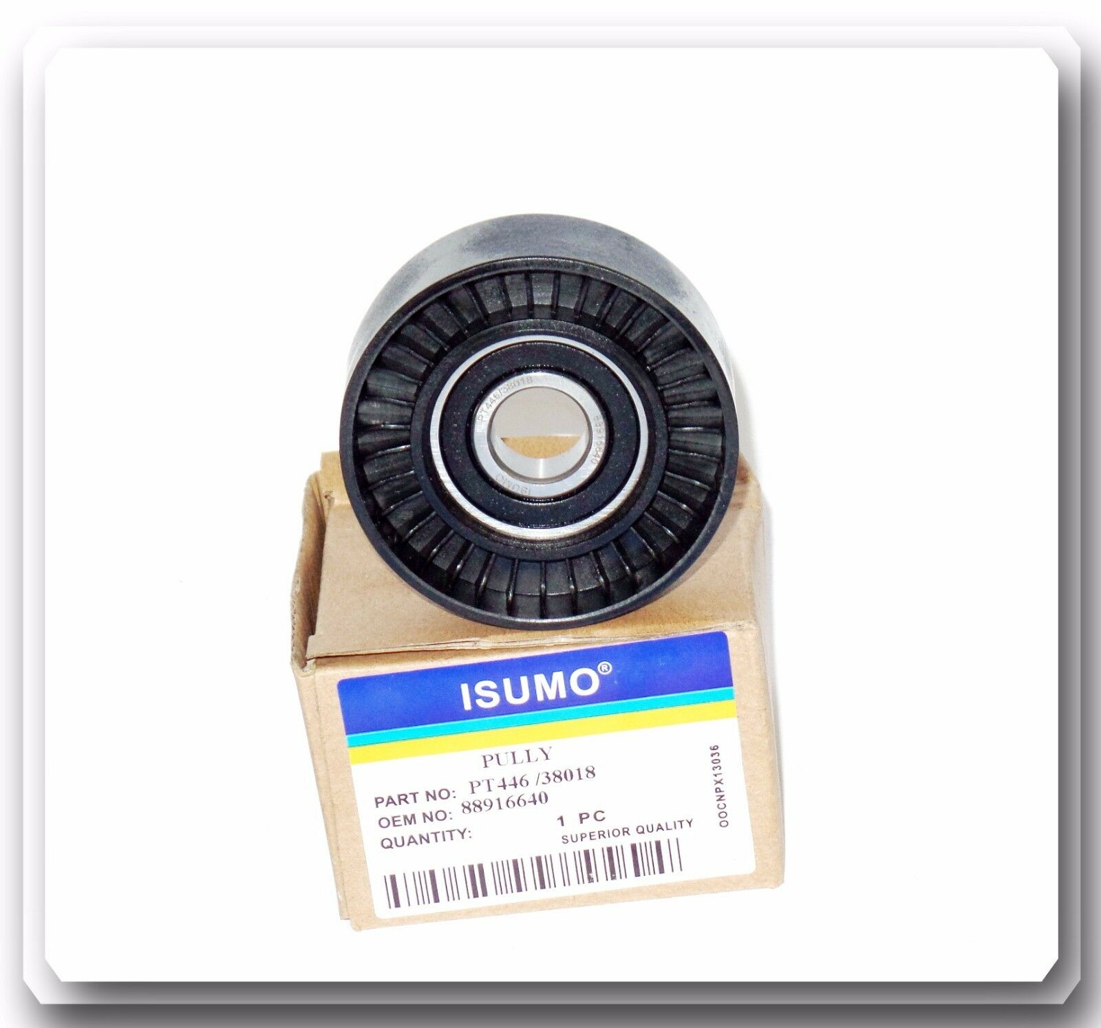 Pt446 4 38018 Drive Belt Idler Roller Pulley Od70mm Bearing Id17mm 2002 Mazda 626 Tensioner 1 Of 6free Shipping