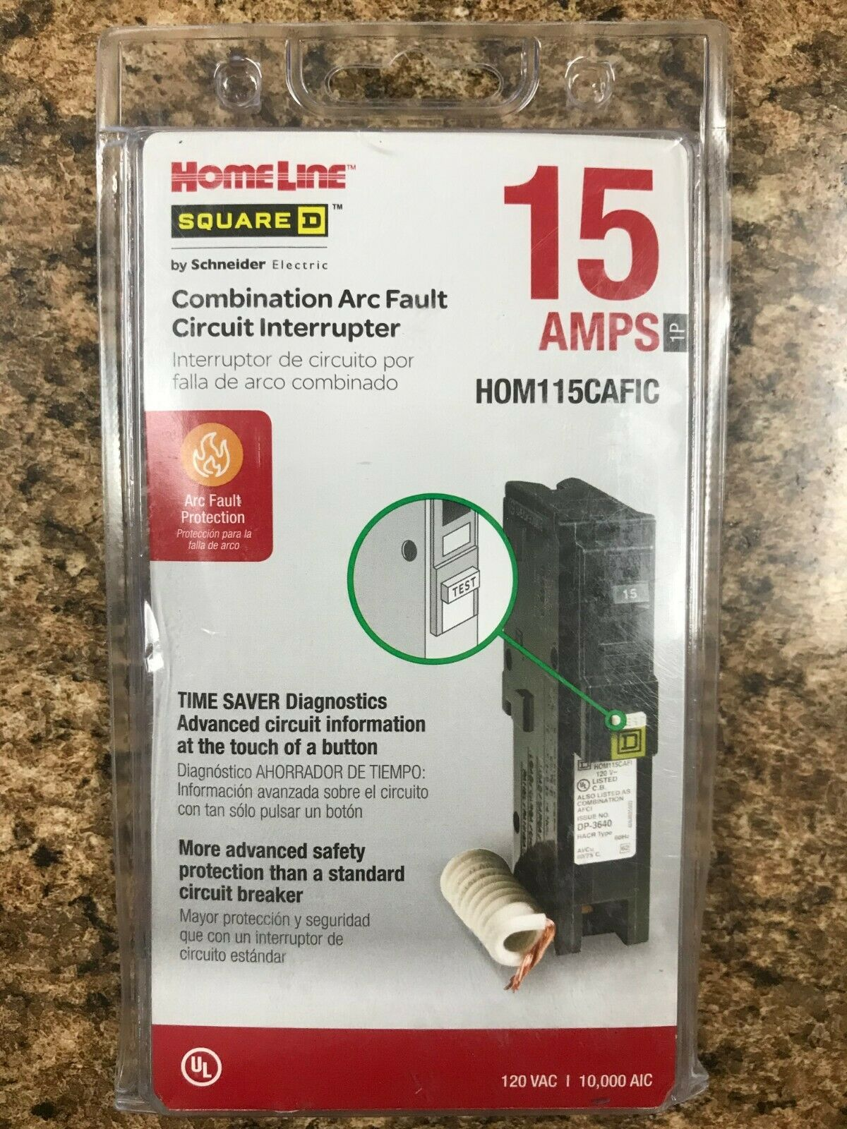 Square D Hom115cafi N 15a 120v 1p New 3299 Picclick Homeline 15amp 1pole Combination Arc Fault Circuit Breaker 1 Of 1free Shipping