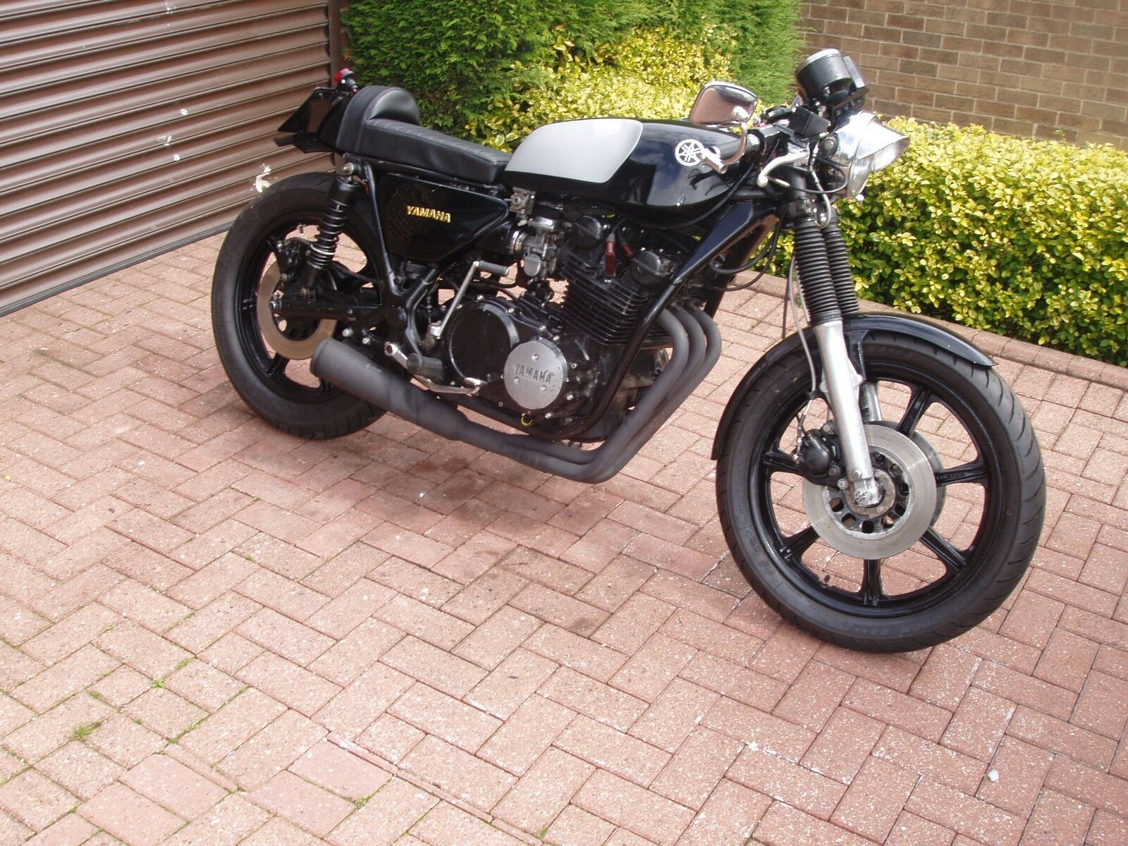 1978 yamaha xs750 cafe racer 1 of 5 See More