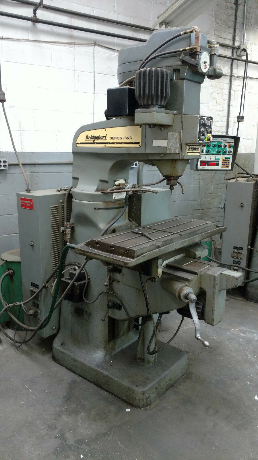 Bridgeport Series 1 Cnc Vertical Mill Milling Machine 3 Axis 1 of 8Only 1  available ...