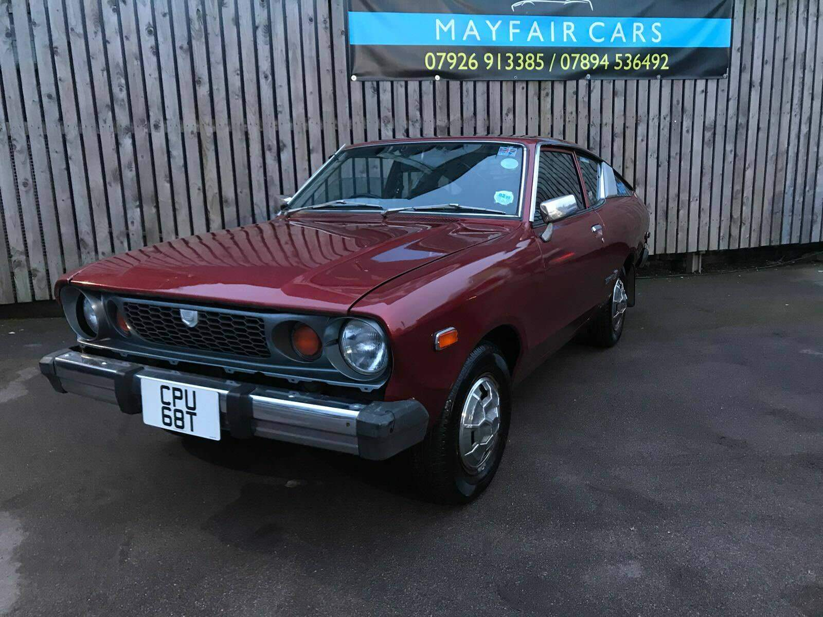 1978 DATSUN 120Y Coupe, Very Rare, Classic Car - £4,250.00 | PicClick UK