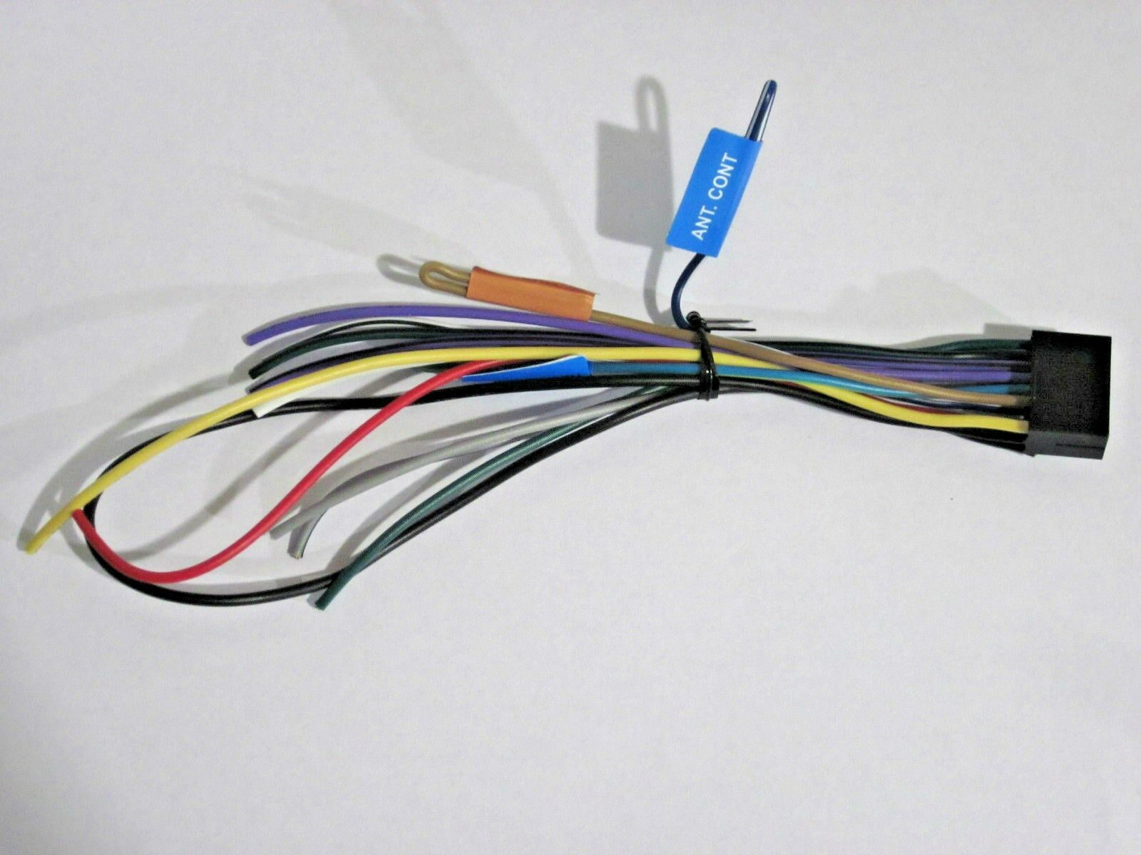 Kenwood Wiring Harness P Cont Electrical Diagrams Ddx512 Wire Original Kdc X300 Oem W6 11 55 Picclick Technic