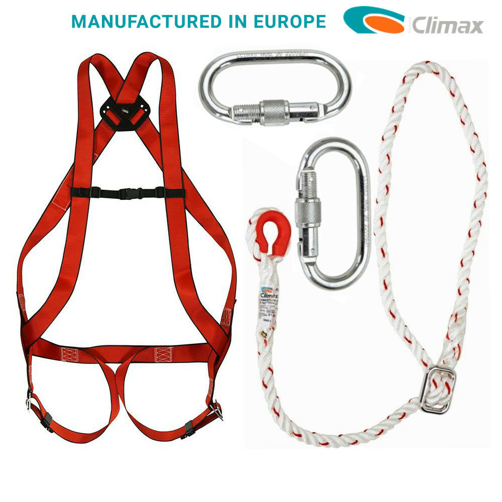 Climax Full Body Safety Harness European Manufacture Fall Arrest Kit 1 Of 6free Shipping See More