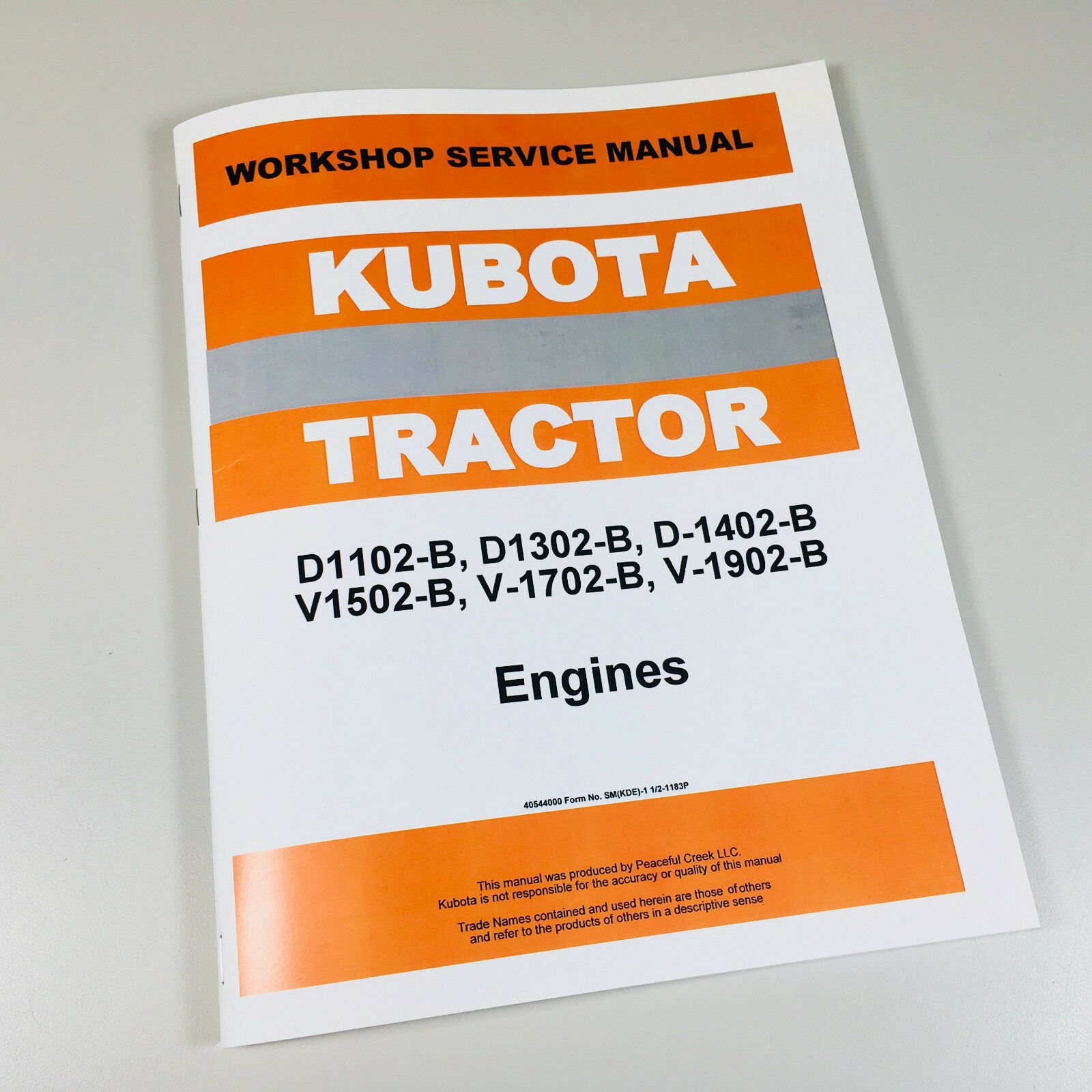 Thomas T133 Skid Steer V1902 Engine Service Manual Repair Shop Book 1 of  6FREE Shipping See More