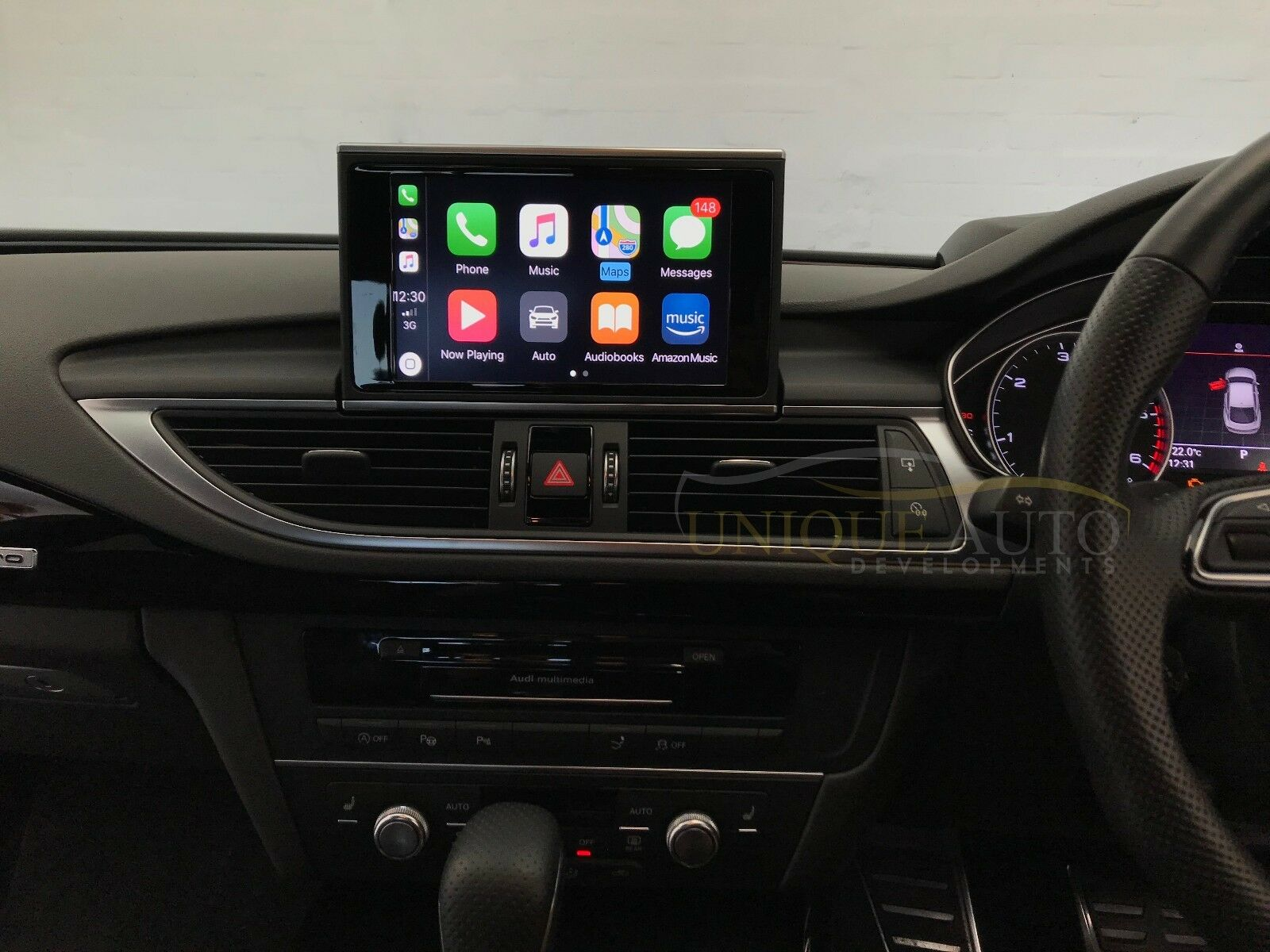 APPLE CARPLAY NAVIGATION Interface Audi A A C For MMI - Audi car play