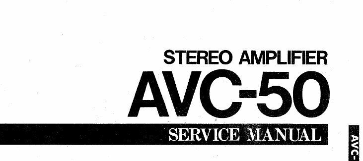 yamaha avc 50 stereo amplifier service manual inc schematics printed yamaha yfz450 service manual 1 of 1only 1 available