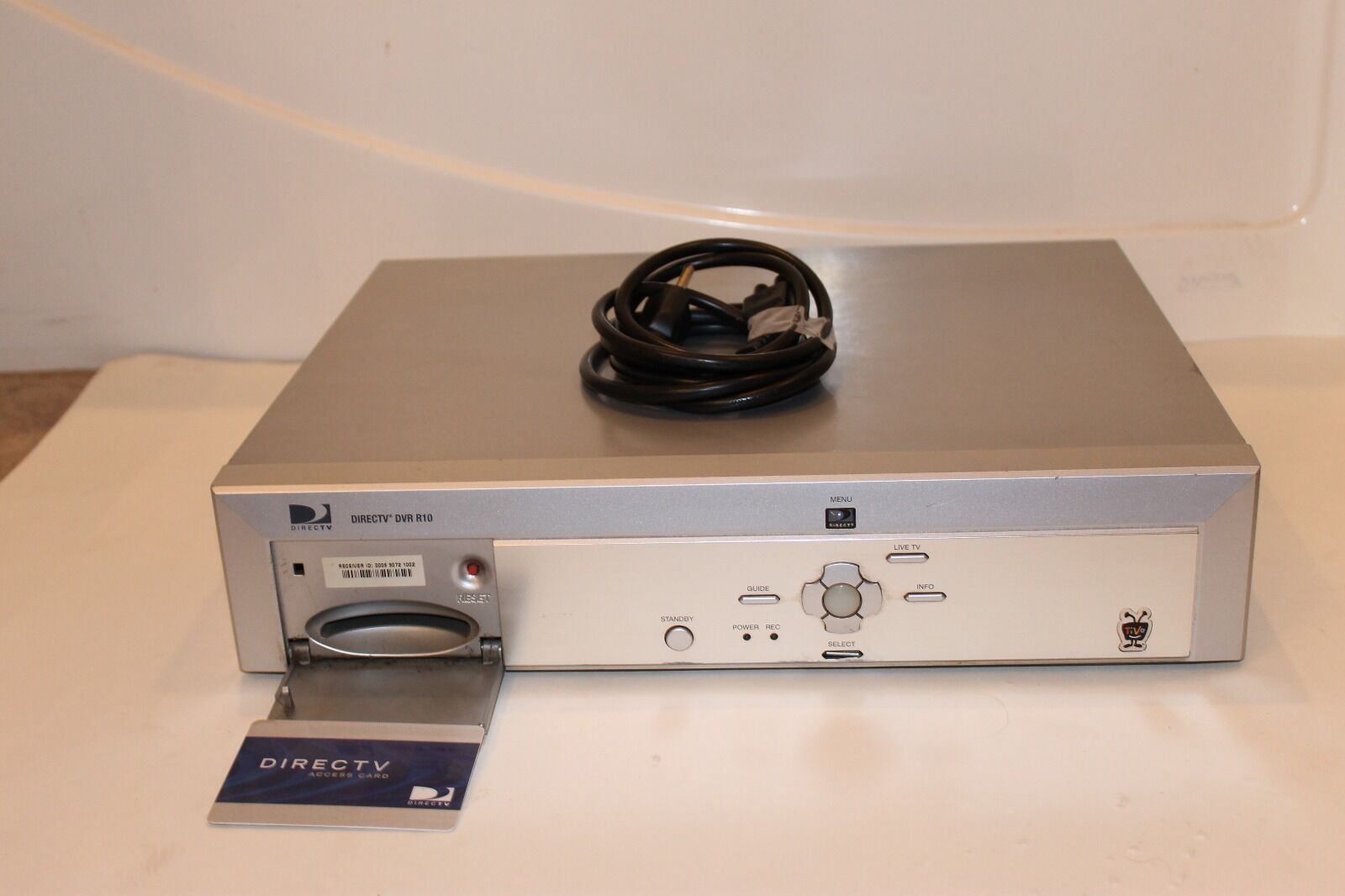 Direct Tv R10 Tivo Dvr 1 of 2 See More