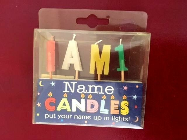 Name Birthday Candles Personalized Put Their In Lights