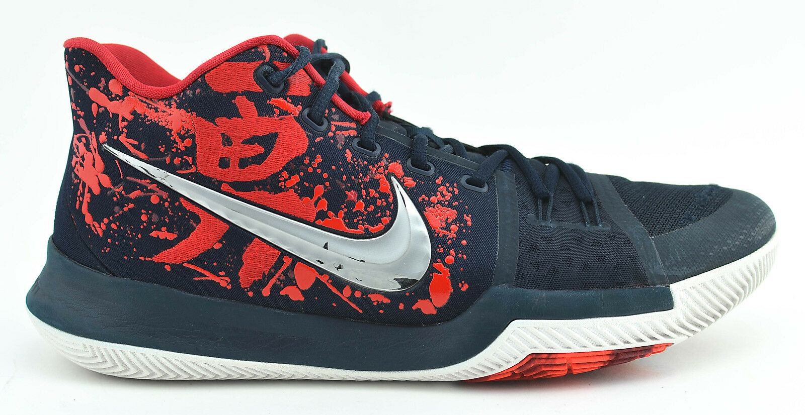 MENS NIKE KYRIE 3 Samurai Qs Christmas Basketball Shoes Size 12 Us ...