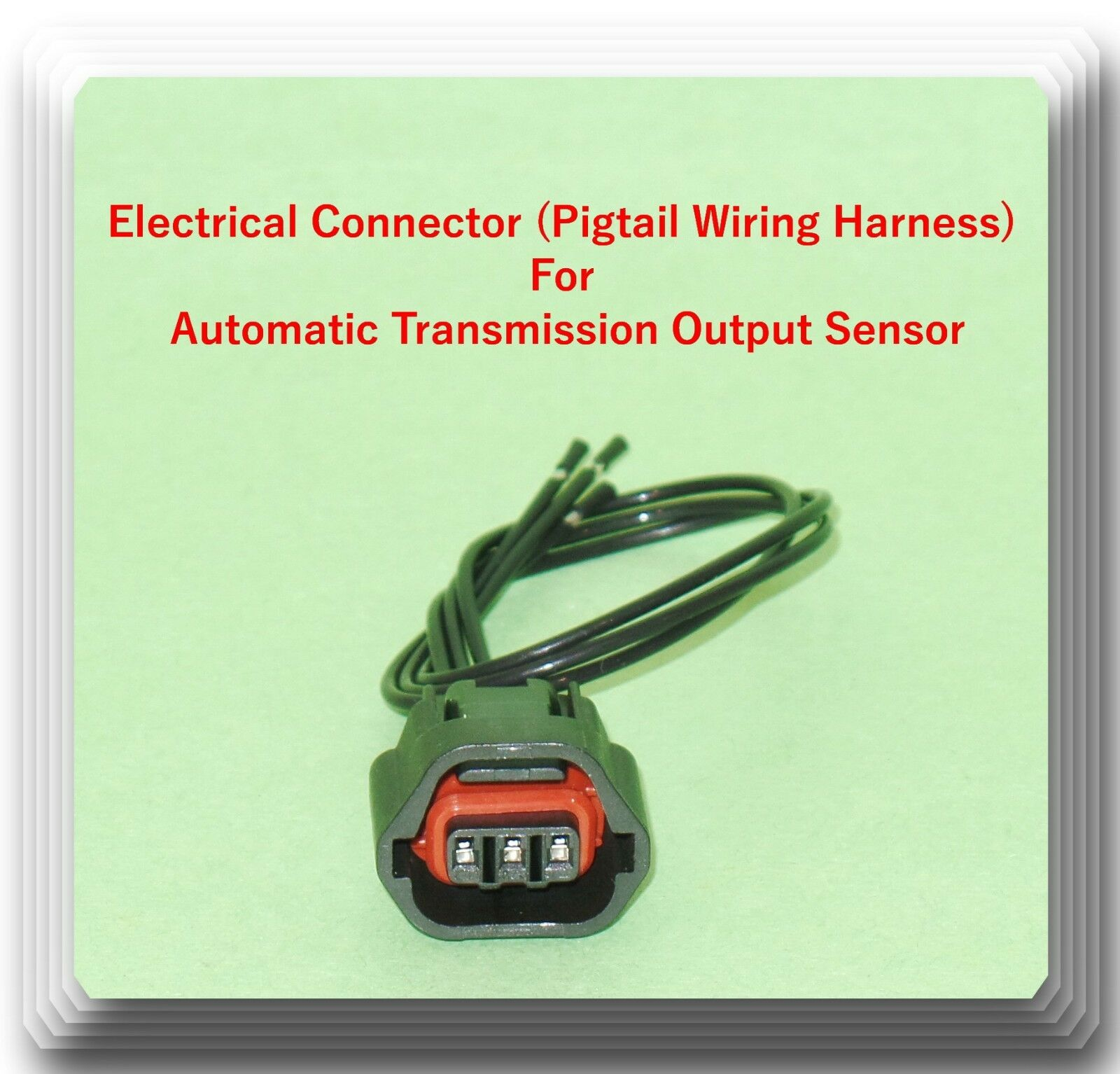 Electrical Connector Of Output Auto Trans Speed Sensor Sc329 Fits Hyundai Wiring Harness Connectors 1 1free Shipping