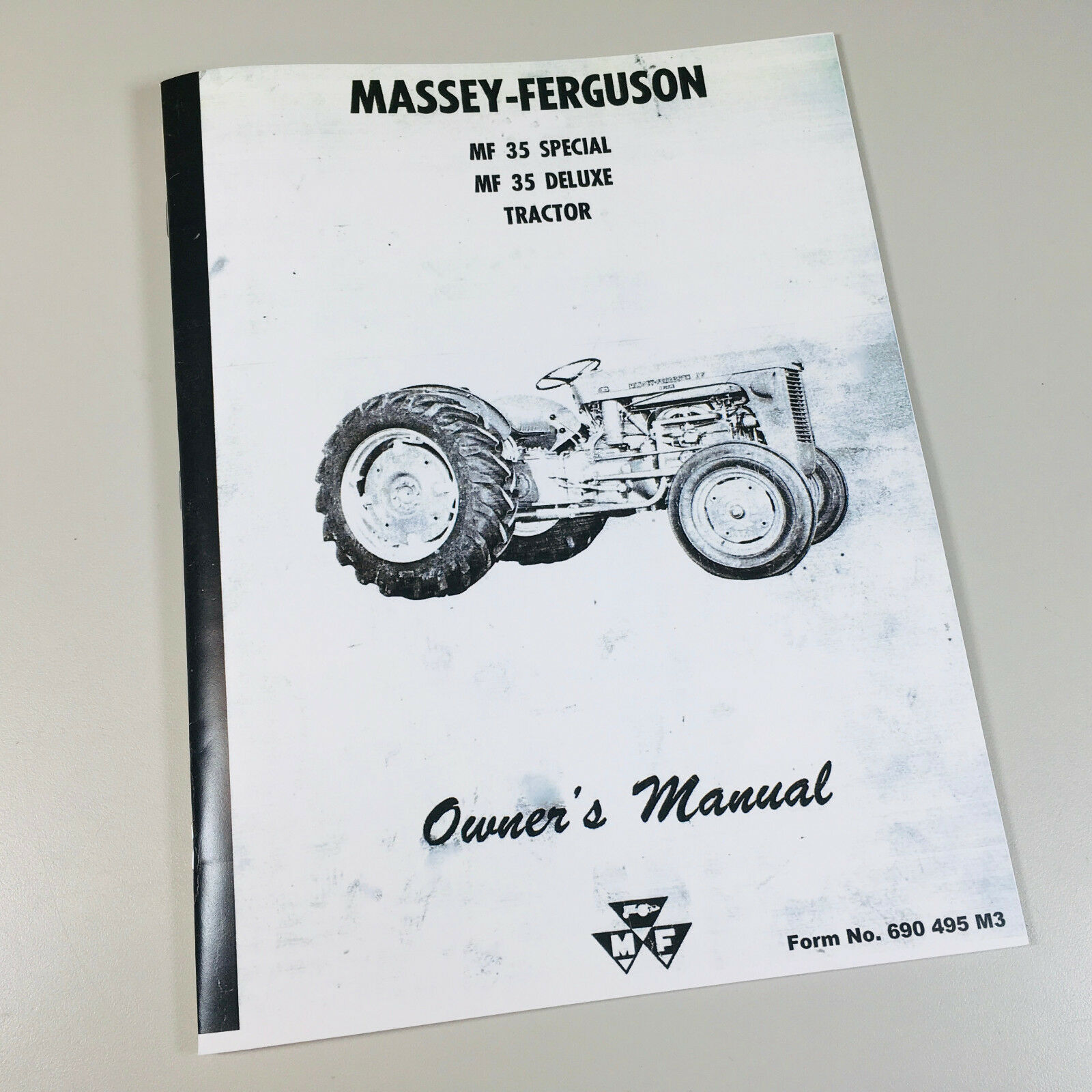 Massey Ferguson Mf 35 Special 35 Deluxe Tractor Owners Operators Manual 1  of 6FREE Shipping ...