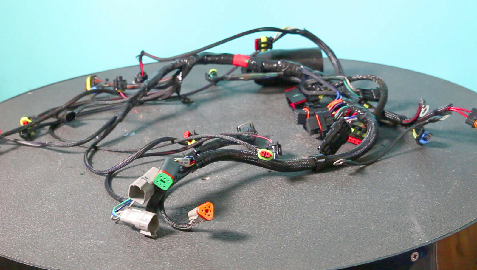 2010 Up Evinrude 75 90 Hp E Tec Wiring Harness 0587052 587052 1 Of See More