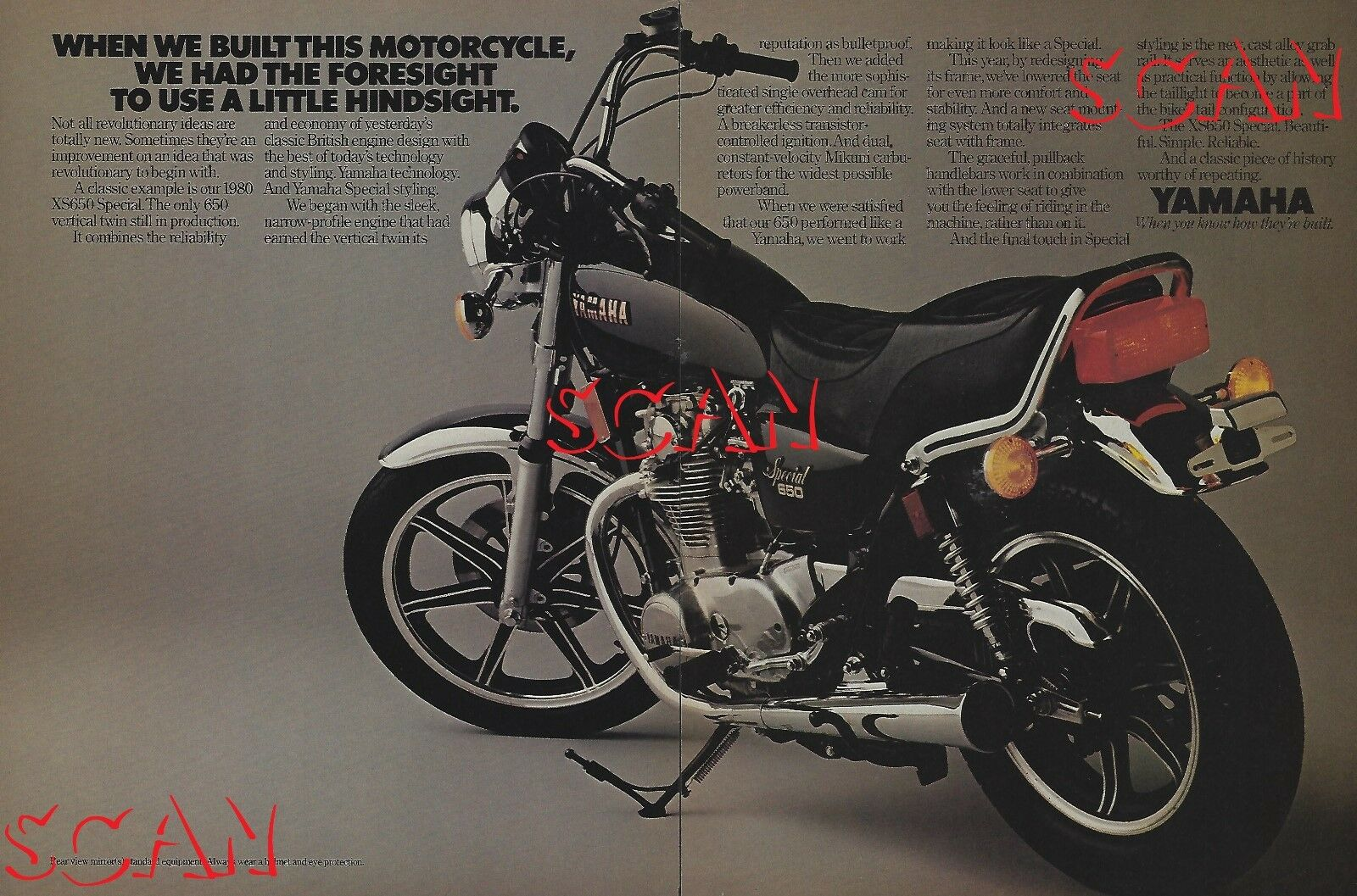 1980 Yamaha Xs650 Special Motorcycle Ad Vintage Magazine Yg1 Wiring Diagram 1 Of 2 See More