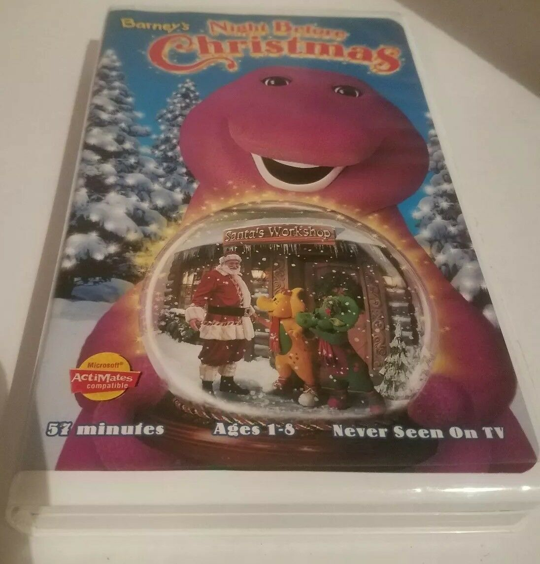 BARNEYS NIGHT BEFORE Christmas (VHS, 1999) - $5.99 | PicClick