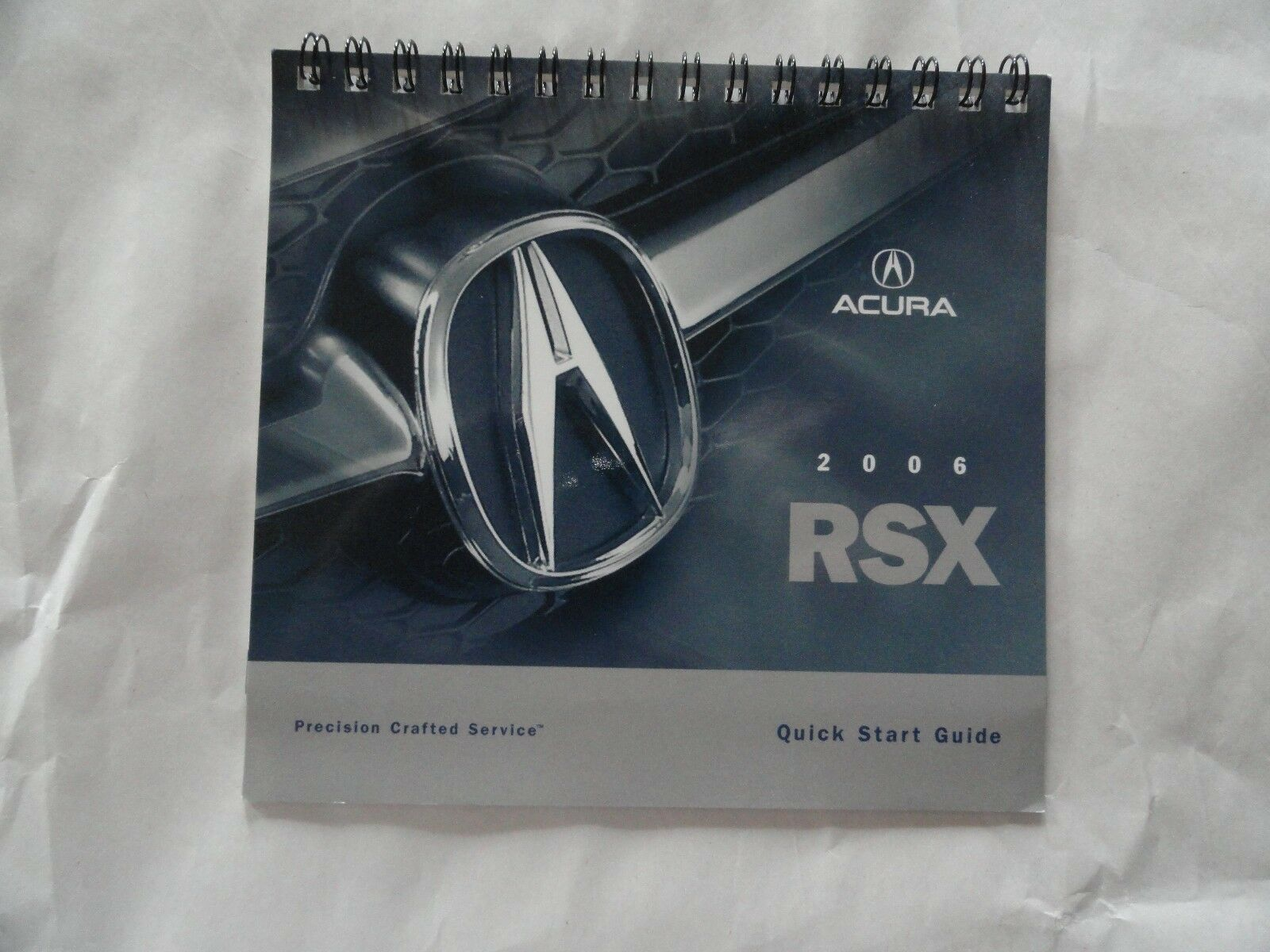 2006 Acura RSX Quick Reference Guide Owners Manual Supplement 1 of 1Only 2  available ...