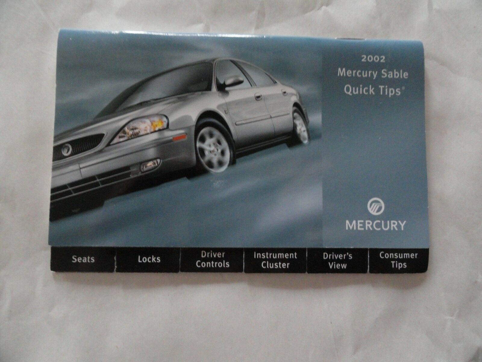 2002 Mercury Sable Quick Reference Guide Owners Manual Supplement 1 of  1Only 2 available ...