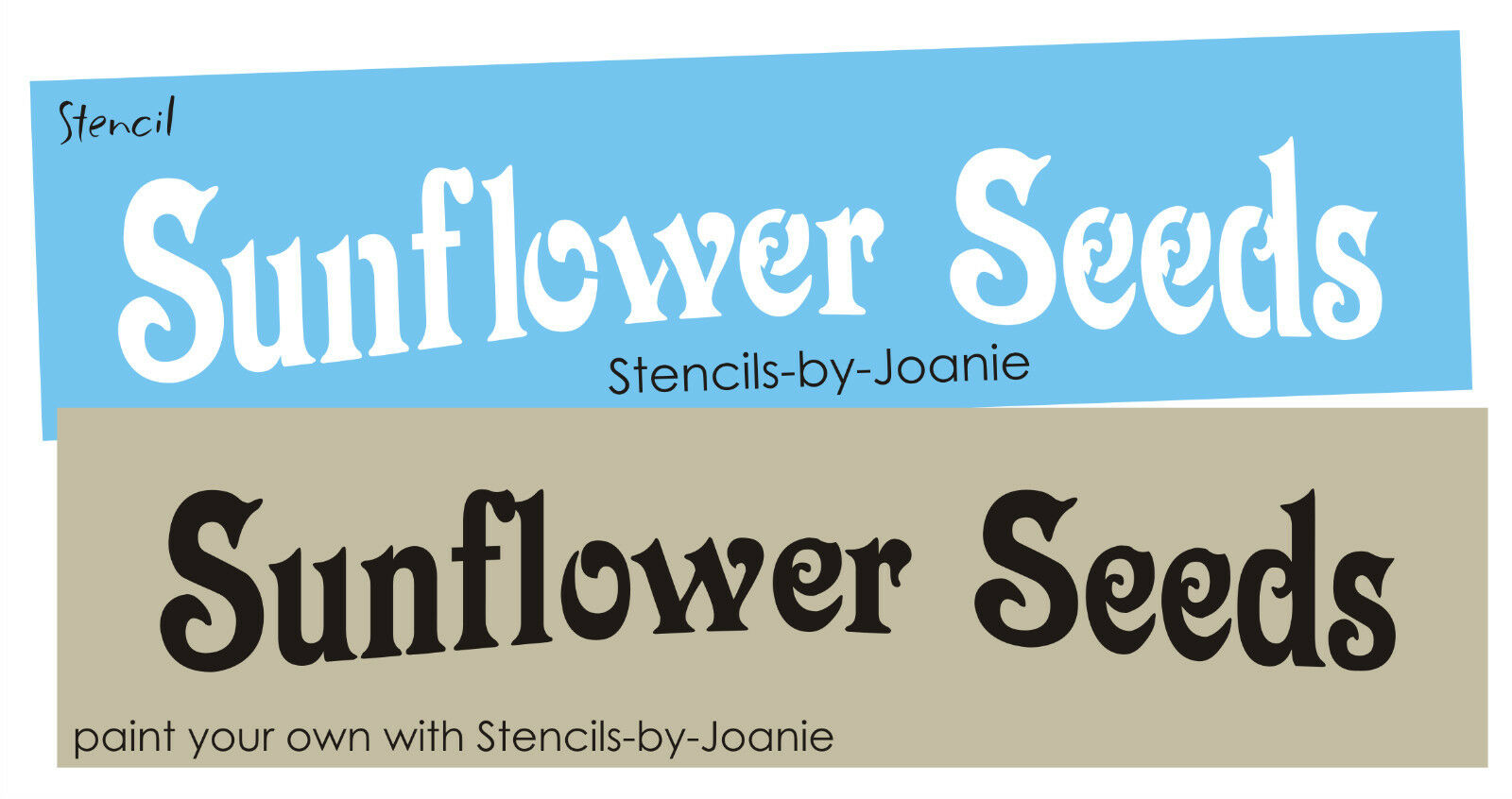 Joanie STENCIL Sunflower Seeds Primitive Potting Shed Garden Porch Craft  Signs 1 Of 1FREE Shipping See More