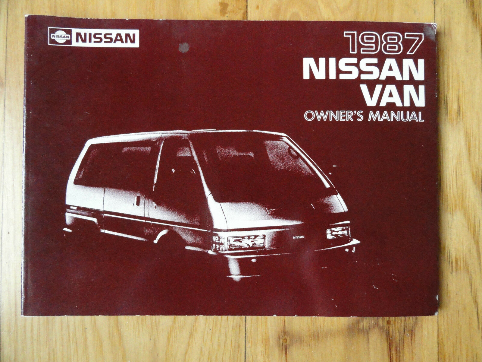 1987 Nissan Van Owner's Manual 1 of 1Only 1 available ...