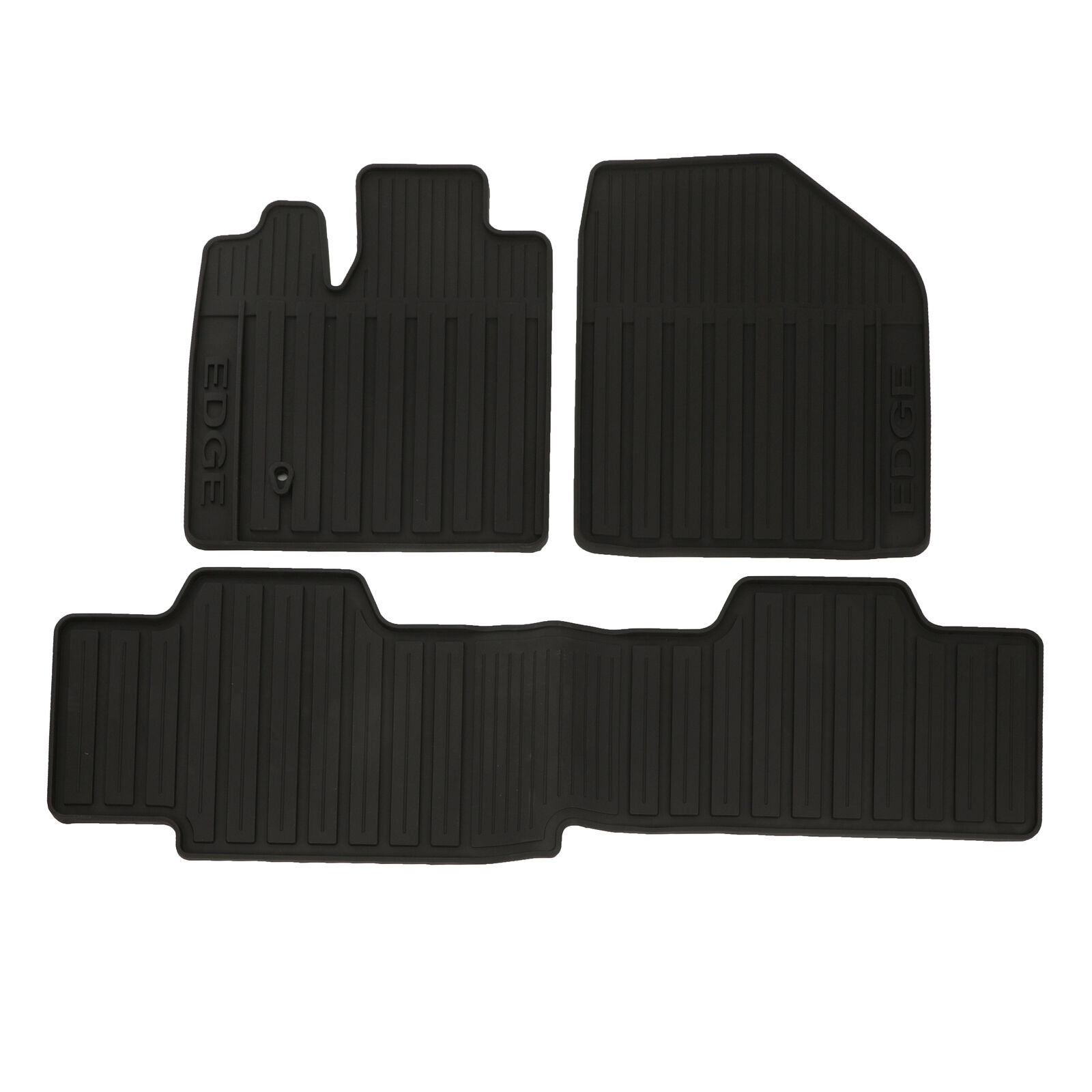 Ford Edge All Weather Rubber Floor Mats Black Set Of  Oem New Only  Available See More