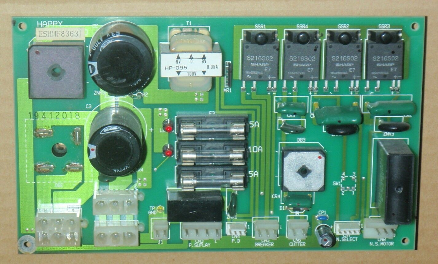 Happy Embroidery Power Supply Circuit Board Assy Hmf83634 Eshmf83631 Printing Machine Prices Buy Machinecircuit 1 Of 1only Available