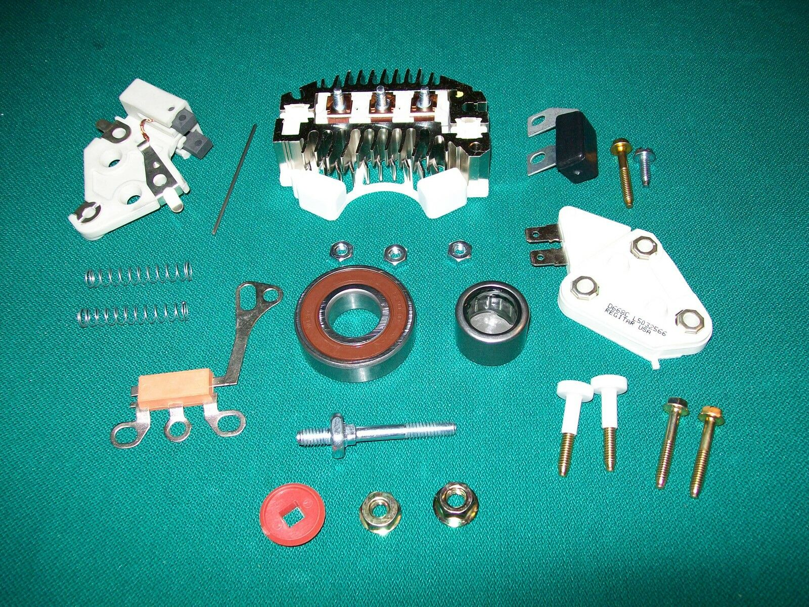 12si Delco Alternator Rebuild Kit 78 94 Amp Chevy Truck Pontiac Wiring 86 Oldsmobile Delta 88 Buick Olds Gm 1 Of See More