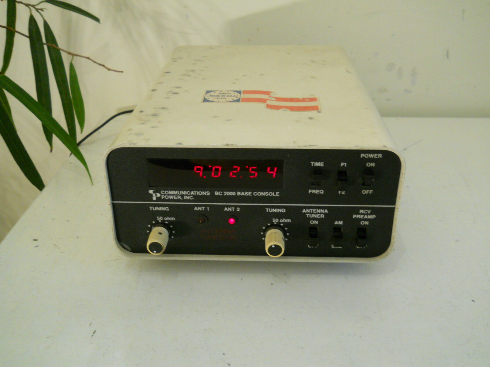 Cb Frequency Counter : Cpi bc base console meter frequency counter antenna
