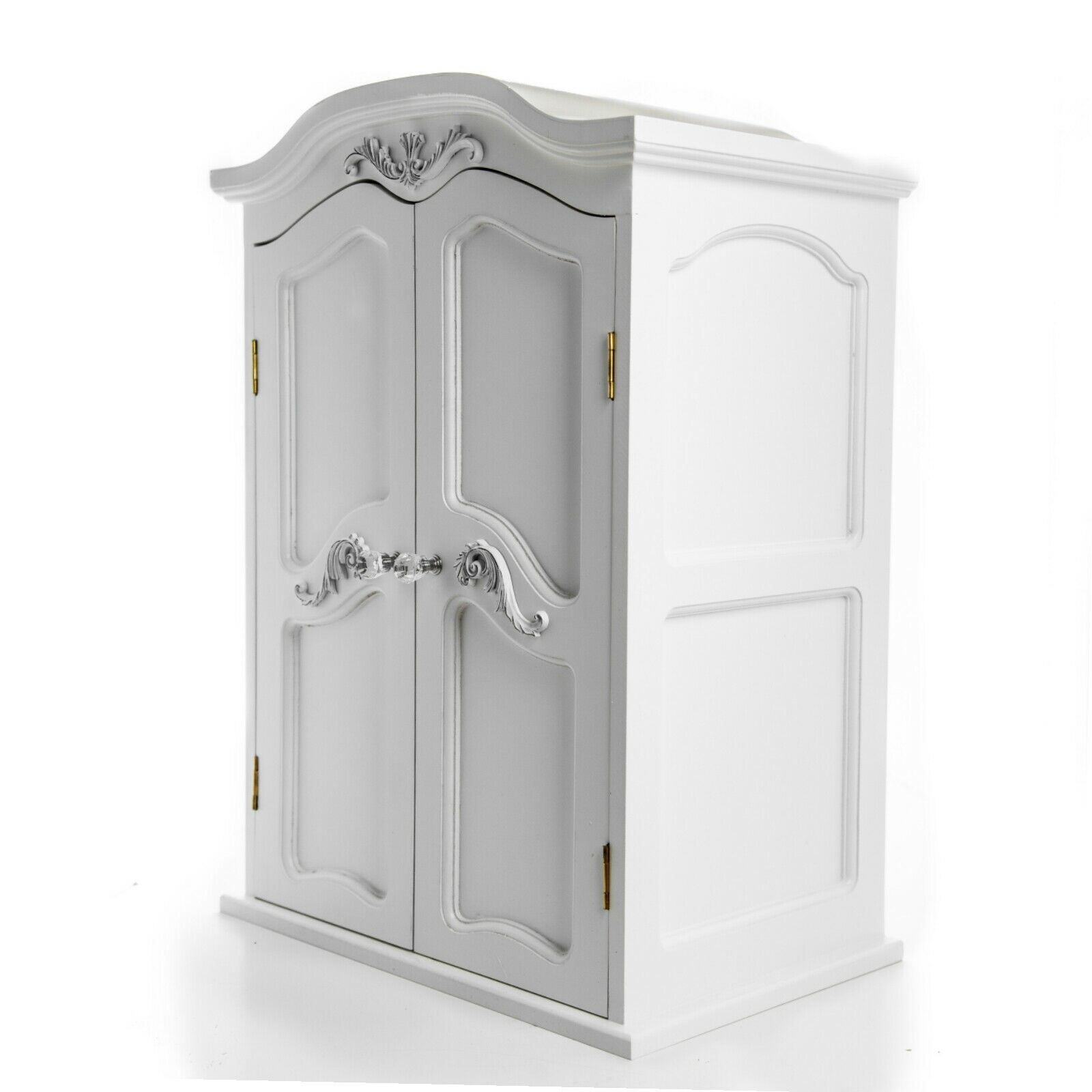 Marvelous photograph of VICTORIAN ARMOIRE 18 Doll Clothes Storage Trunk Furniture Fits  with #726045 color and 1600x1600 pixels