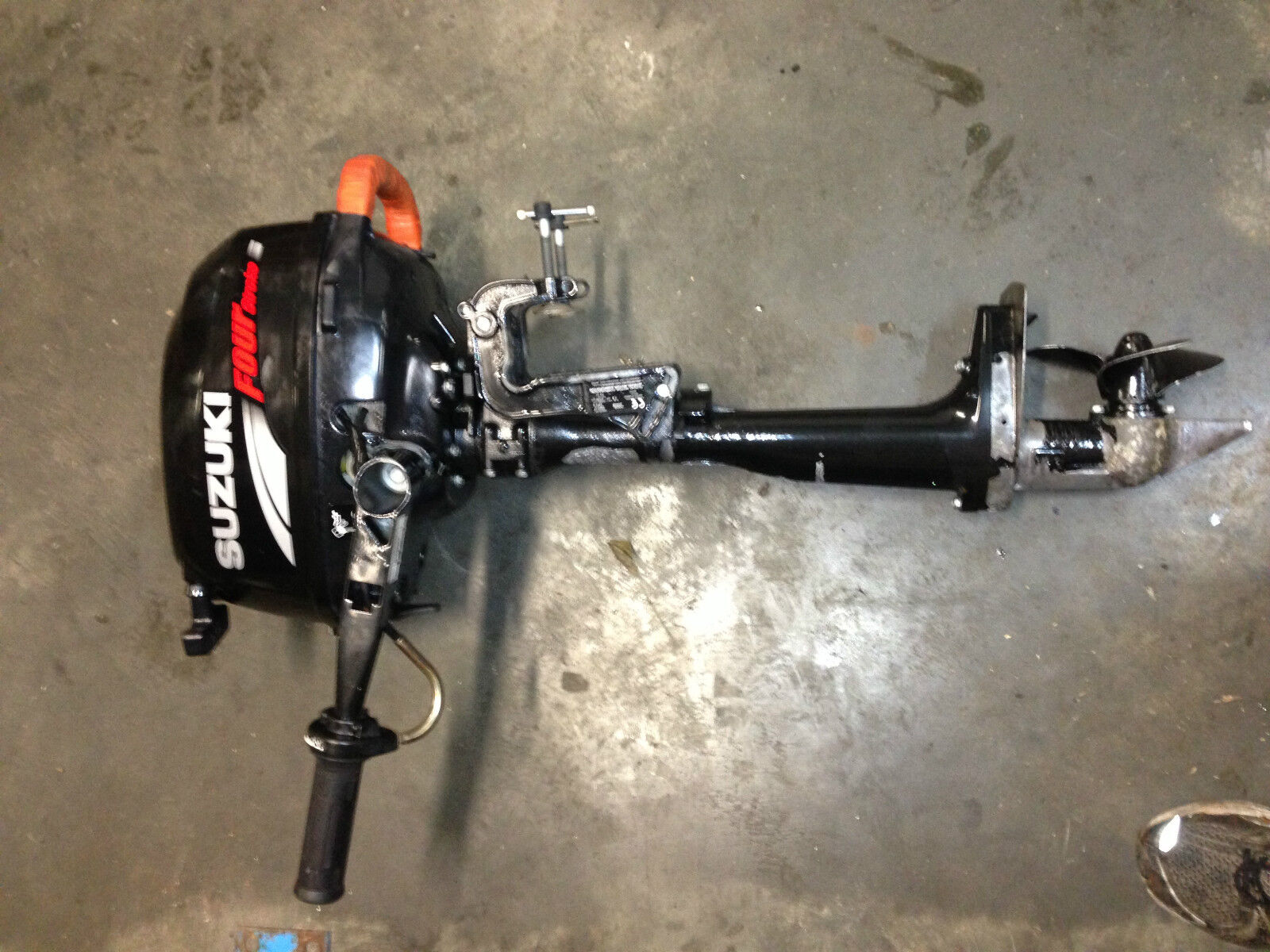 2 5hp suzuki 4 stroke outboard parts aud for Suzuki outboard motor dealers