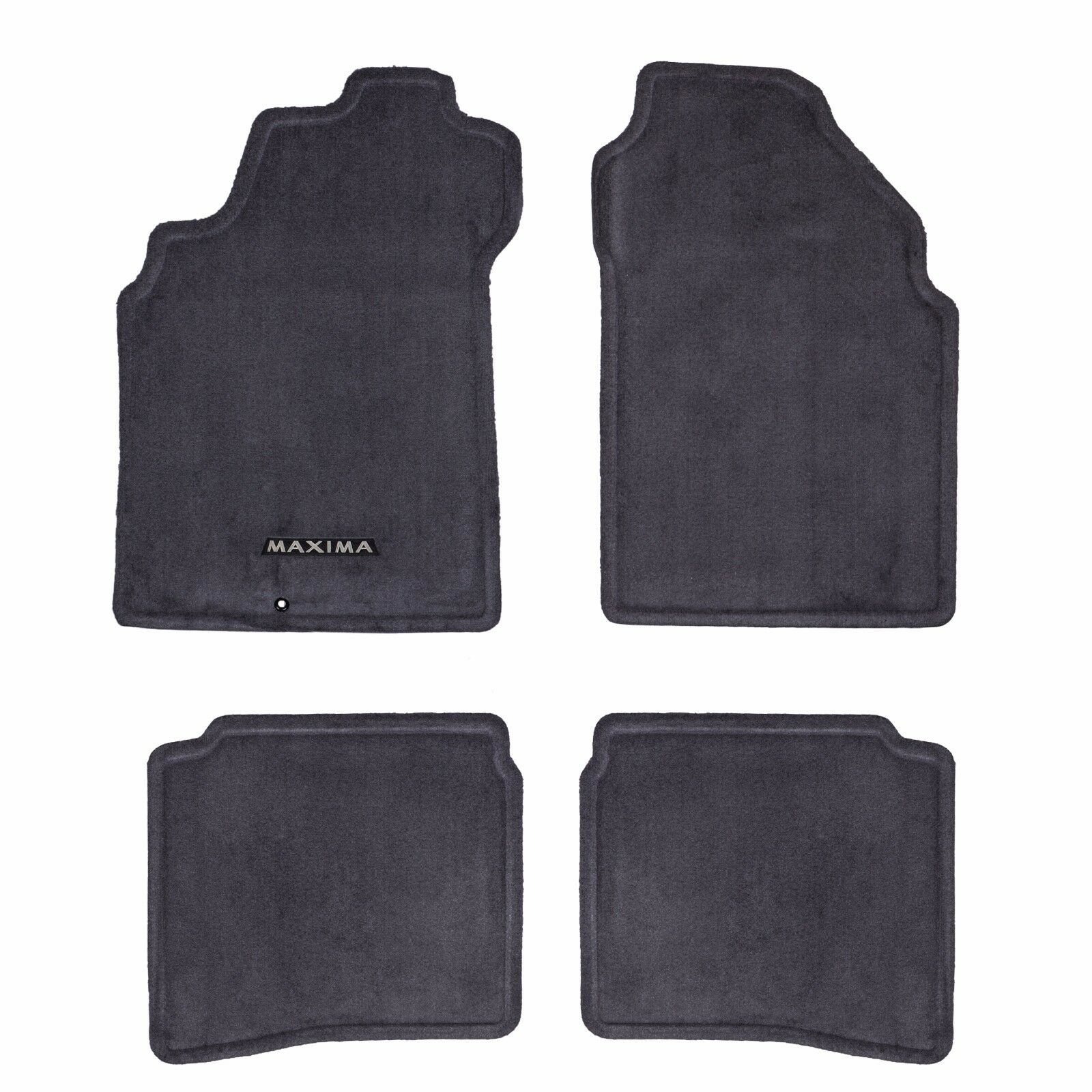 01 03 Nissan Maxima Carpeted Carpet CHARCOAL GREY Floor Mats Front U0026 Rear  Set OE 1 Of 4Only 0 Available See More