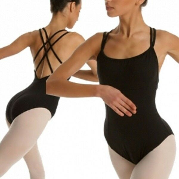 Womens Girls Ballet Dance Camisole Leotard