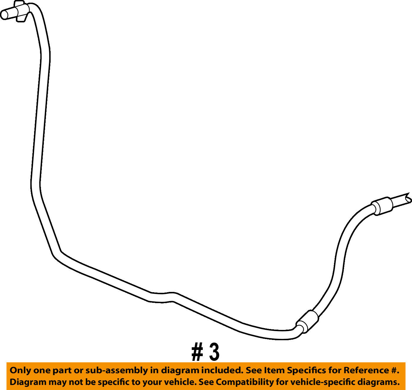 Ford Oem Transmission Oil Cooler Line 6f2z7a031a 2698 Picclick Diagrams 1 Of 2only Available