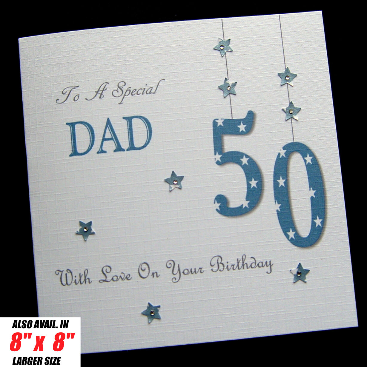 Personalised Handmade Birthday Card Dad Brother Son Grandad Husband Uncle Other 1 Of 1FREE Shipping