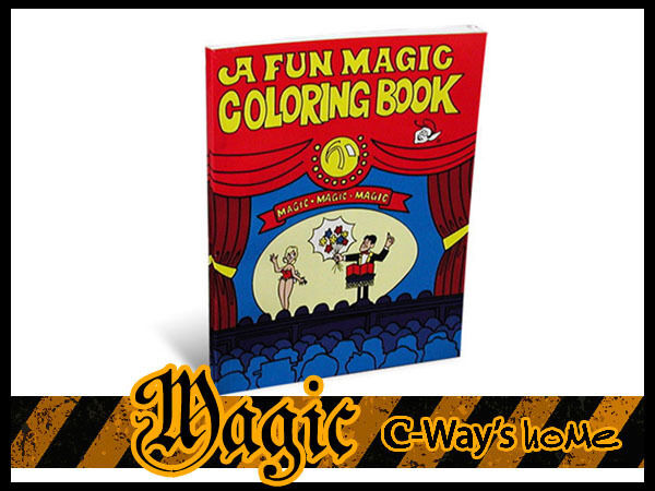 P055 CLOSE-UP FUNNY Magic Mini Trick A Fun Magic Coloring Book For ...