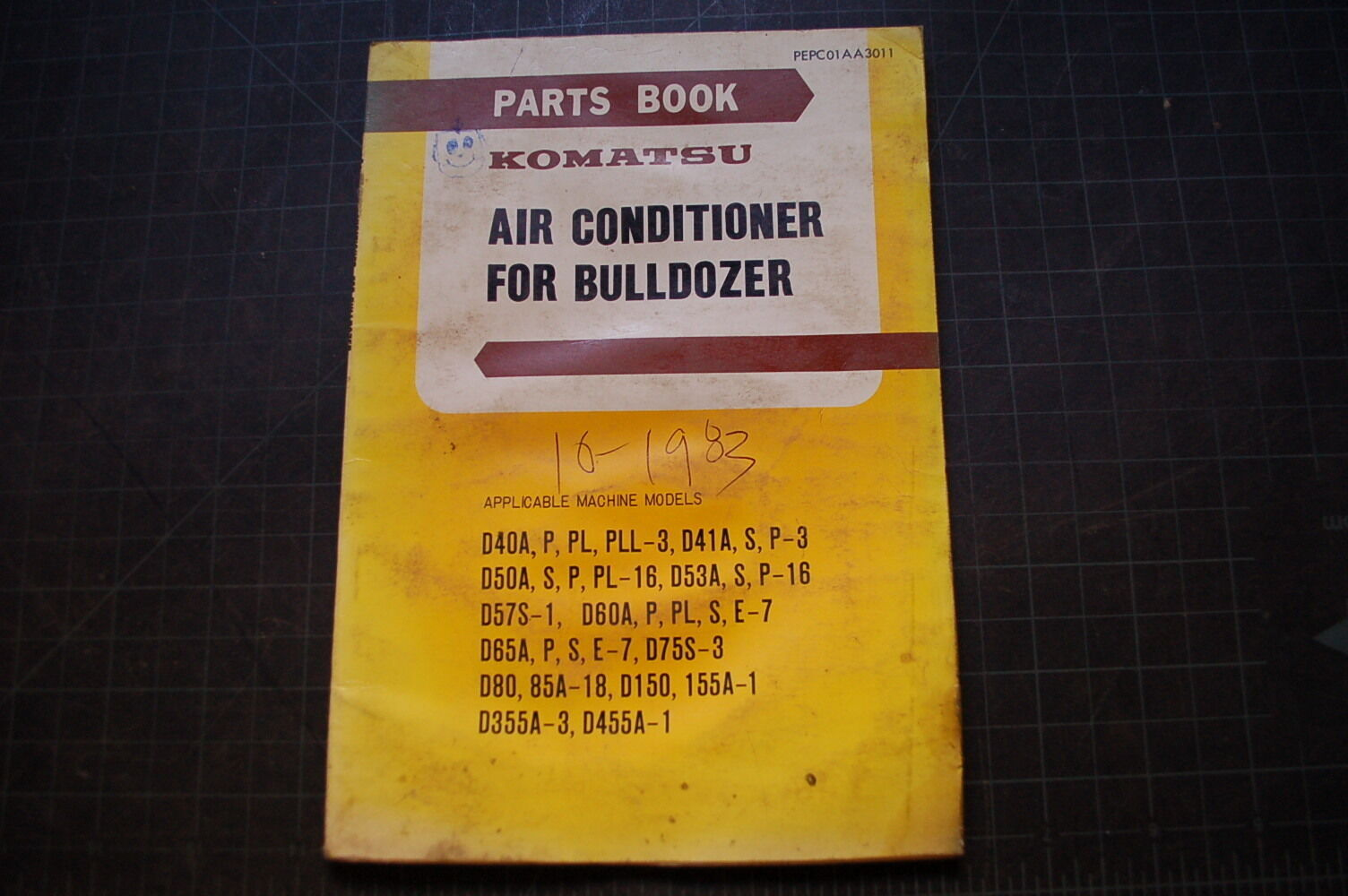 KOMATSU Bulldozer Air Conditioning AC Parts Manual book DOZER TRACTOR  crawler 1 of 1Only 1 available See More