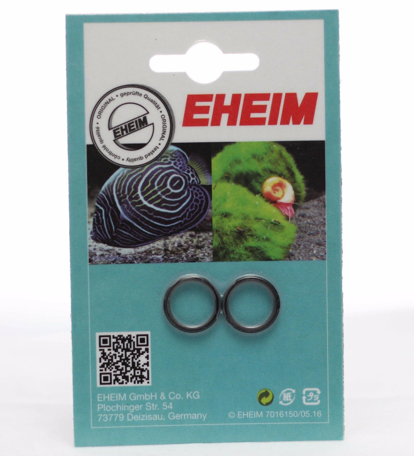 Eheim 7250600 Replacement O Ring. 2211, 2213, 2215, 2217. Pack Of 2.