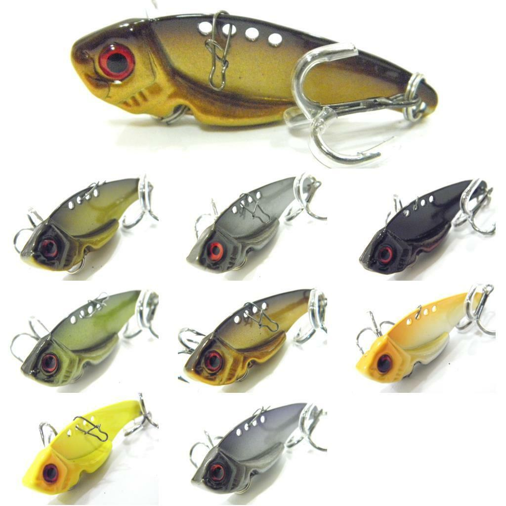 Blade Lure Metal Fishing Lures For Bass Bl3l 199 Picclick Spoon Spinner Bait 10 Pcs Plus Box 1 Of 2free Shipping