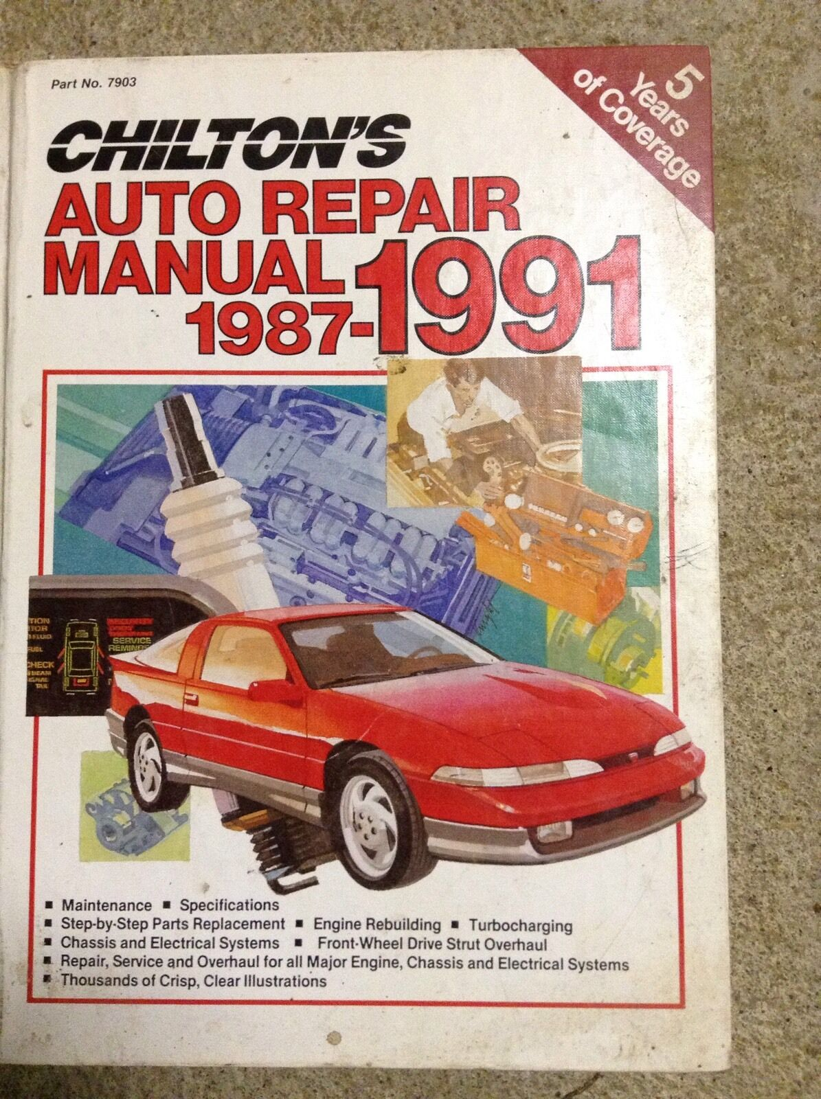 Chilton's Auto Repair Manual 1987-1991 1 of 1Only 1 available ...