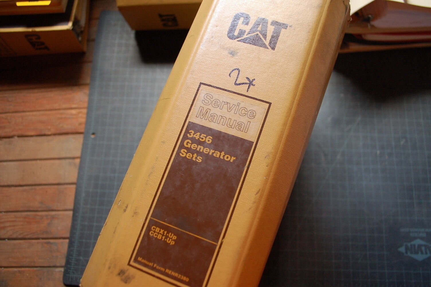 Cat Caterpillar 3456 Generator Set Engine Service Manual Repair C18 Wiring Diagram 1 Of 8only 2 Available Overhaul Owner