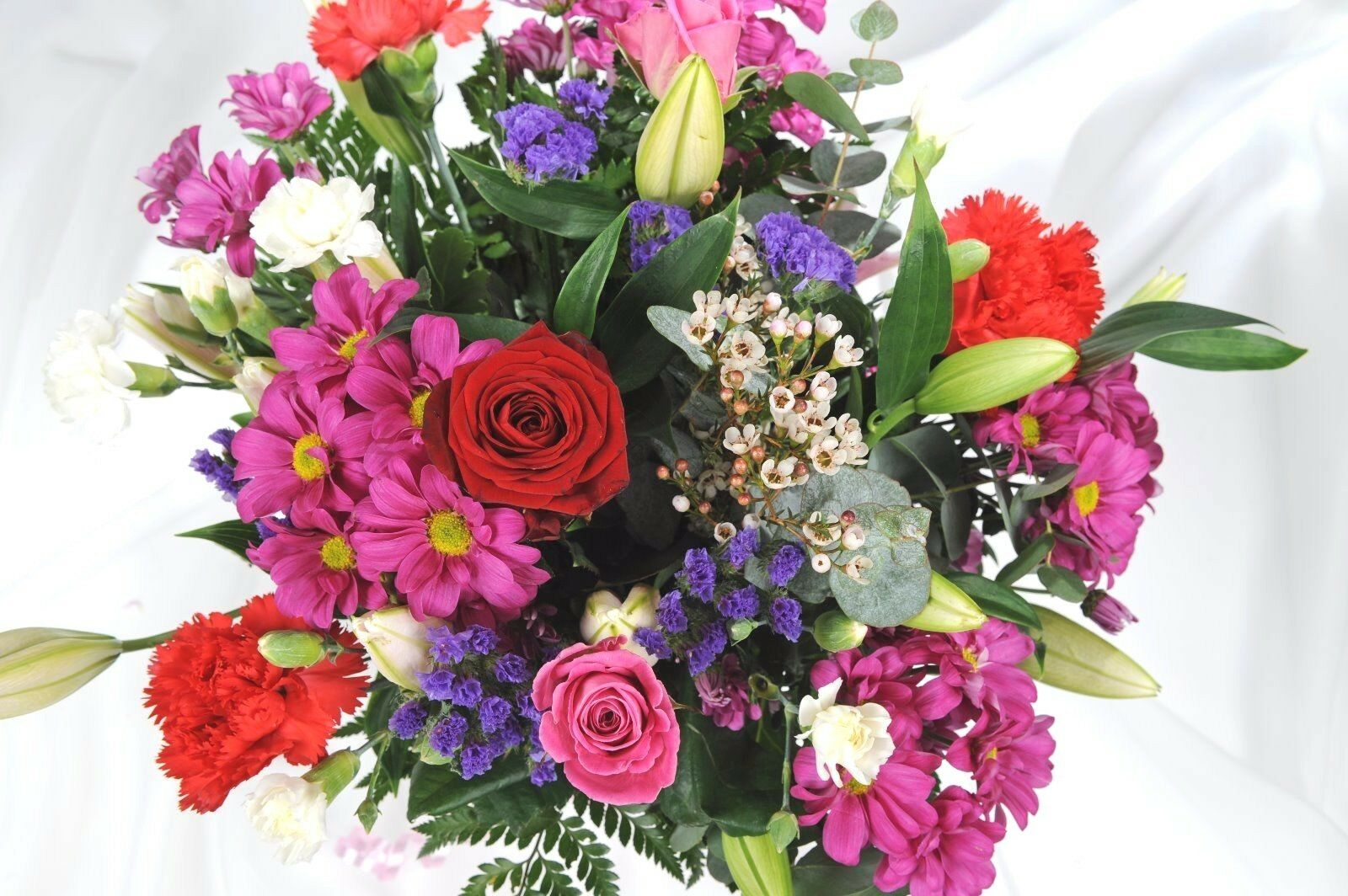 Fresh Real Flowers Delivered Superb Bouquet Free Uk Next Day