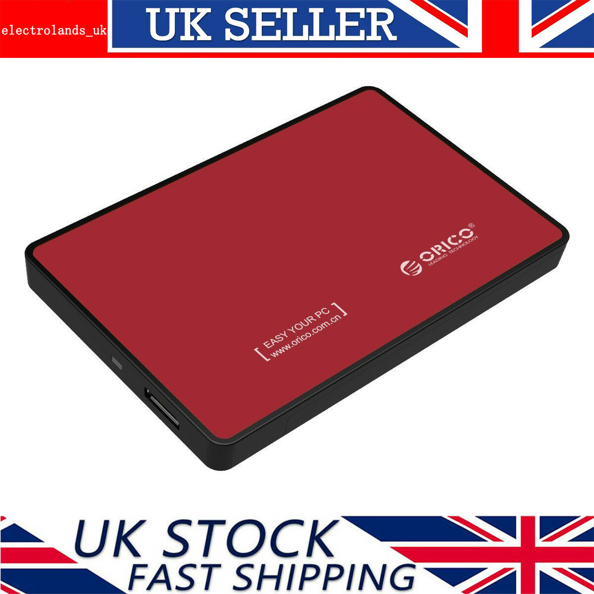 Orico 25 Inch Usb 30 External Sata Iii Hard Drive Hdd Ssd 2588us3 Harddisk Enclosure Portable Super Speed Caddy Case 1 Sur 7 Voir Plus